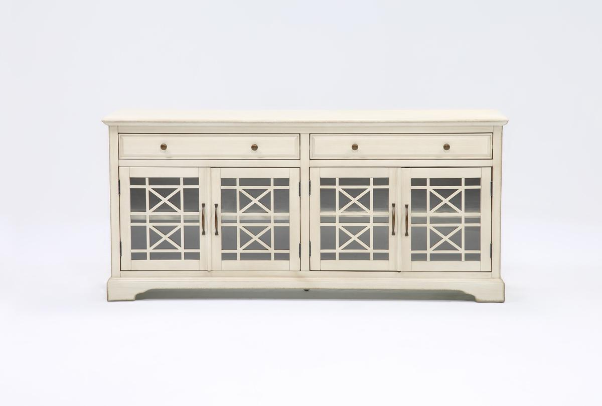 Annabelle Cream 70 Inch Tv Stand (Gallery 6 of 20)