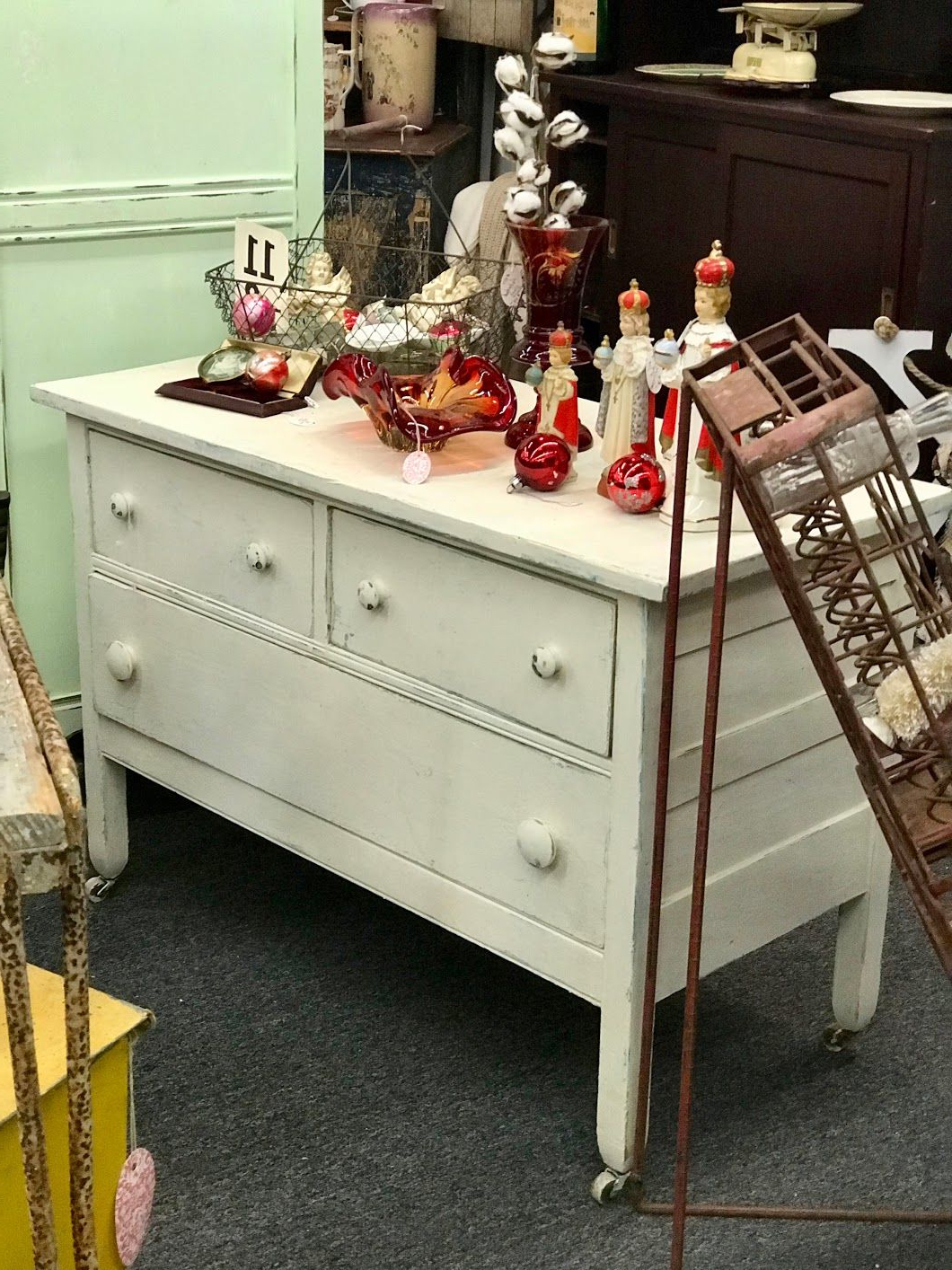 Antique Shabby Chic Dresser On Sale Could Be A Tv Stand, Use In Within Famous Vintage Tv Stands For Sale (Gallery 16 of 20)