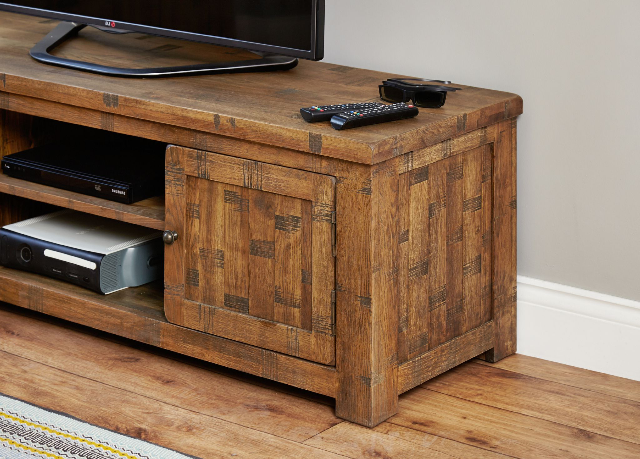 Antique Tv Stand For Sale Rustic Wood Entertainment Center Console Pertaining To Well Liked Rustic Tv Stands For Sale (View 3 of 20)