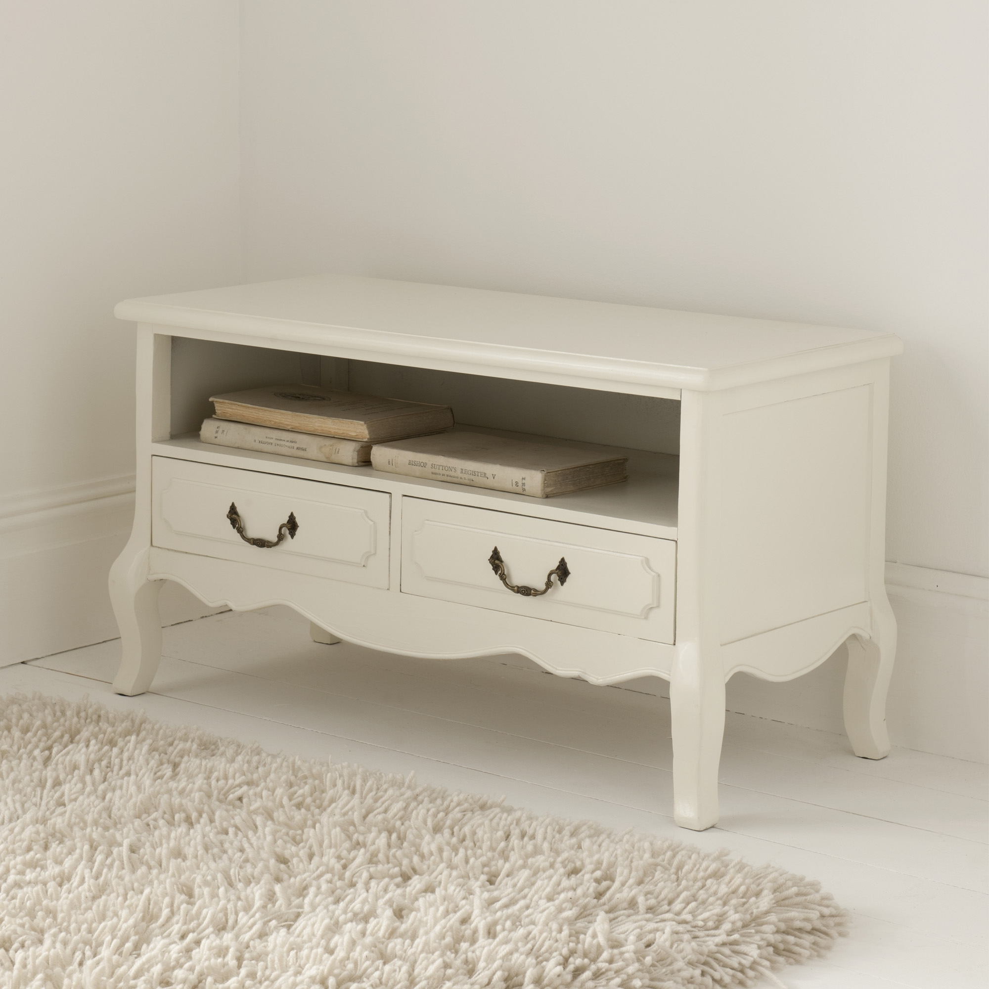 Antique White Furniture Range Within Most Recently Released Antique Style Tv Stands (View 6 of 20)