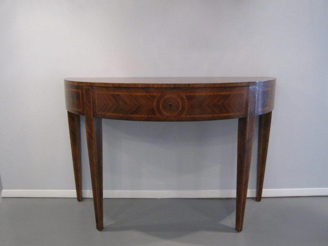 Artist's Originals Demilune Console Tablebutler — Oz Visuals Regarding Most Popular Clairemont Demilune Console Tables (View 1 of 20)