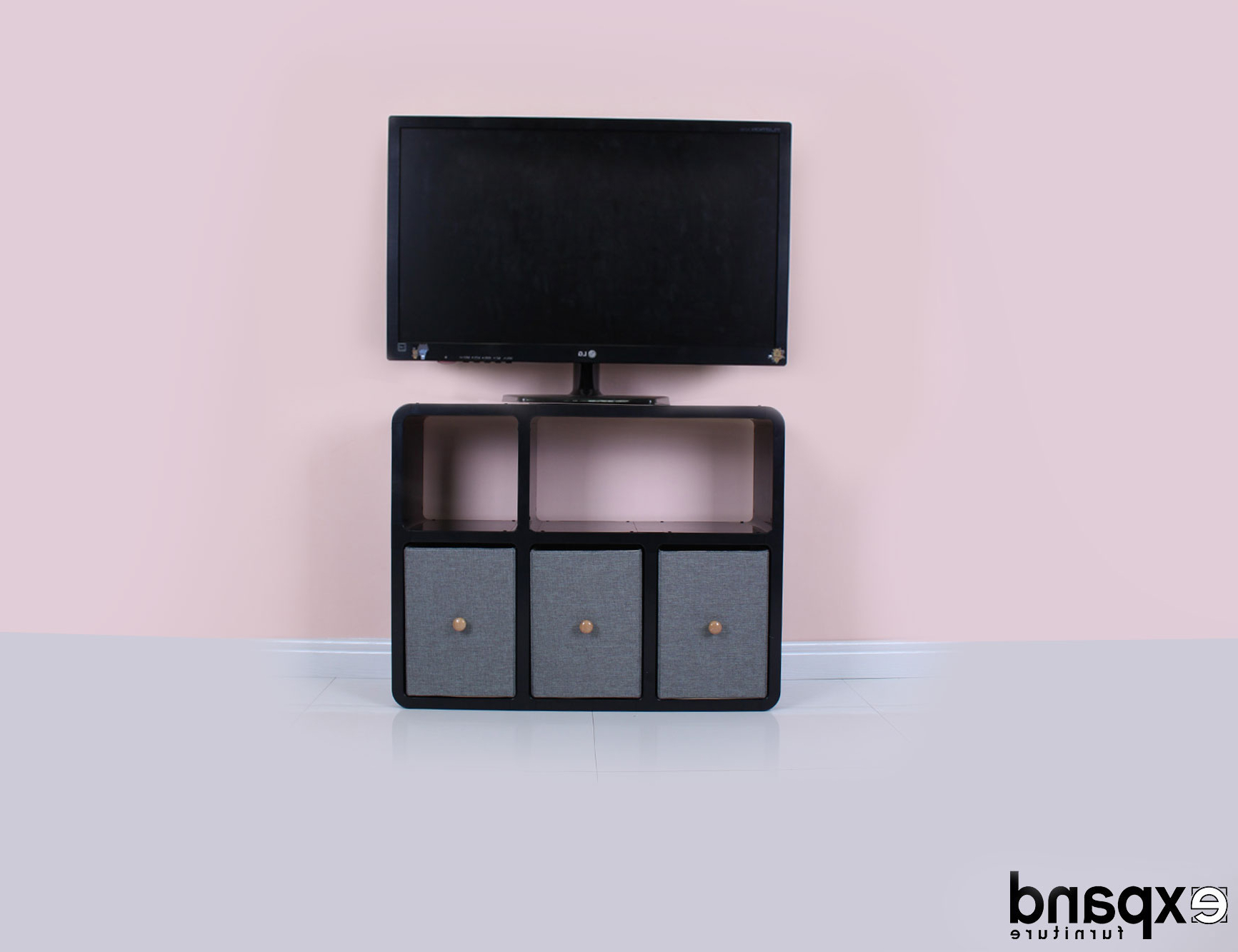 Attractive Slim & Modern Tv Standsexpand Furniture Intended For Latest Slim Tv Stands (View 5 of 20)