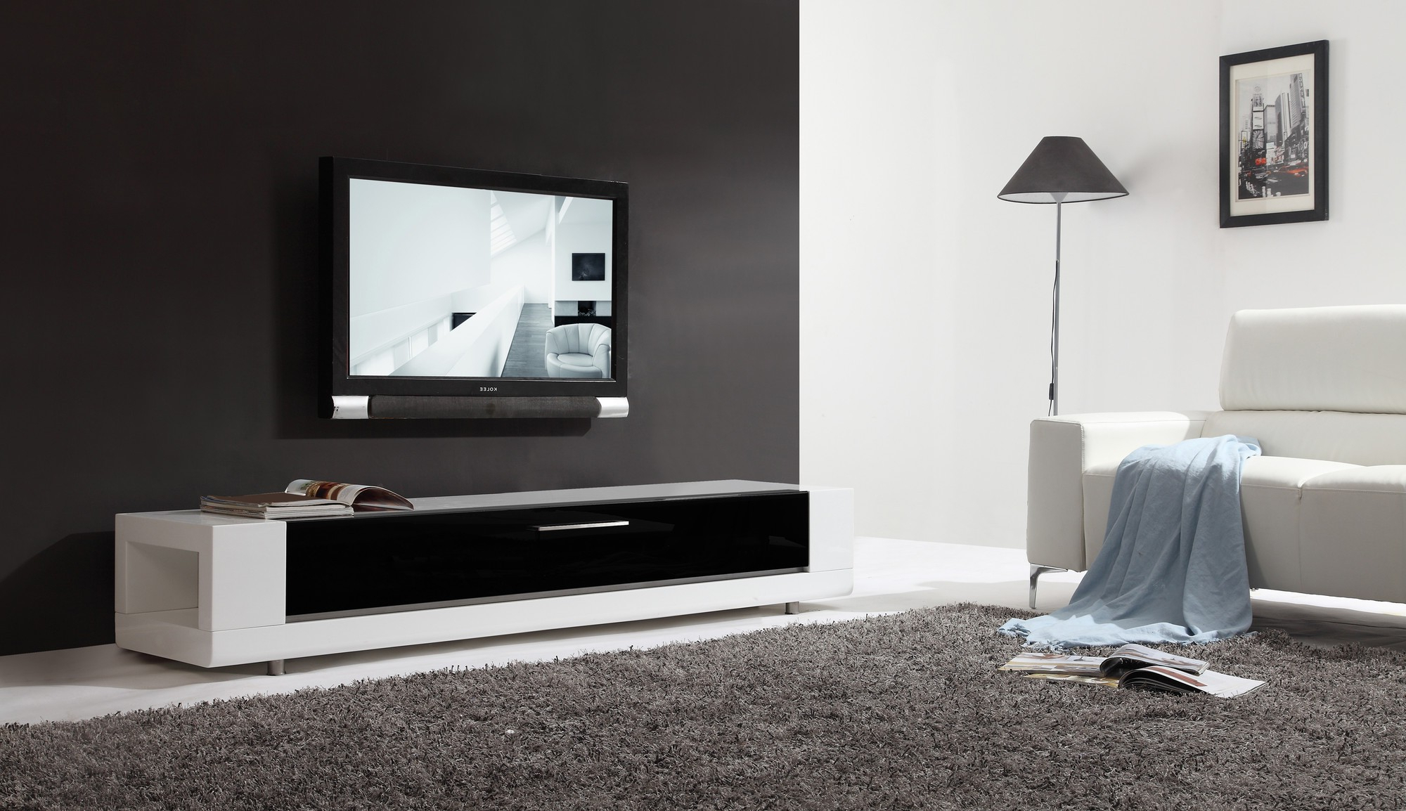 B Modern Tv Stands With Fashionable B Modern Editor Remix Tv Stand Modern Furnishings (View 7 of 20)