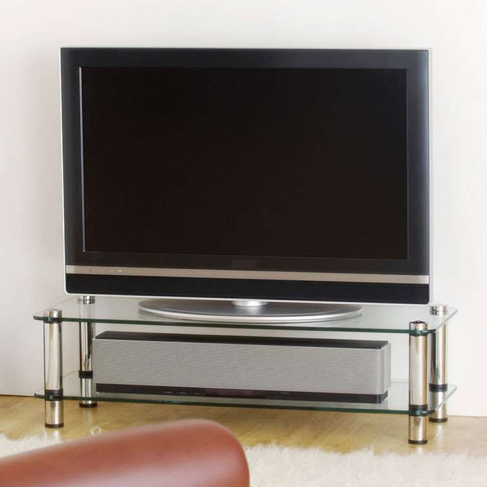 Bedroom Living Room Lounge Flatscreen Tv Stand Platform Within Best And Newest Slimline Tv Stands (View 15 of 20)
