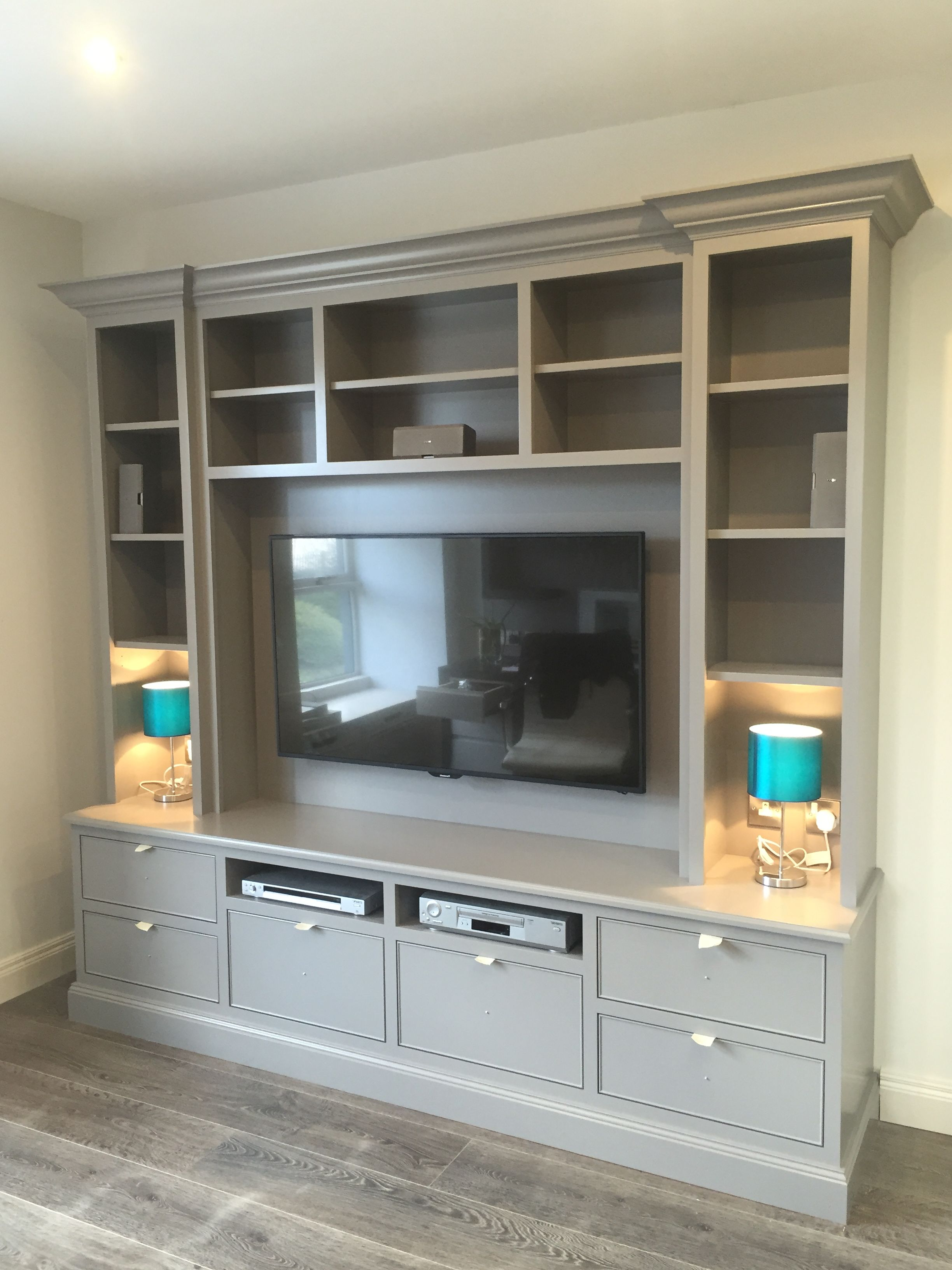 Bedroom Tv Shelves In Most Current Best 25 Bedroom Tv Stand Ideas On Pinterest (View 1 of 20)