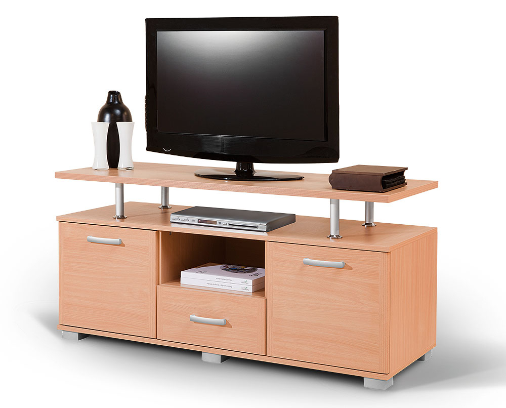 Beech Tv Stands Intended For Favorite Tv Stand Luna — Furniture Matis (View 5 of 20)