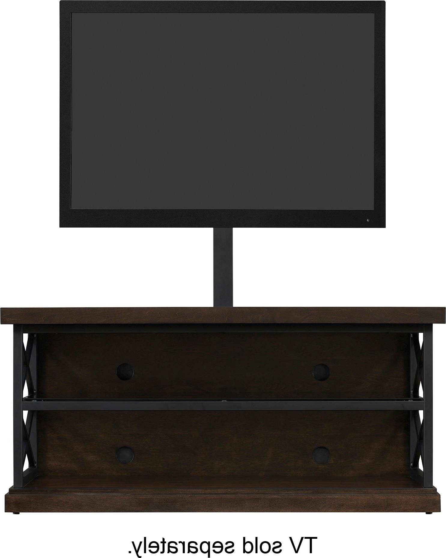 "Bell O Triple Play Tv Stands Regarding Best And Newest Best Buy: Bell'o Triple Play Tv Stand For Most Tvs Up To 55"" Brown (View 5 of 20)"