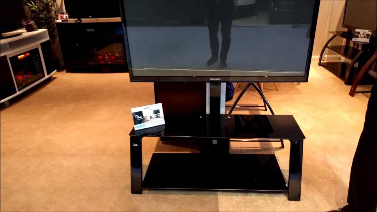 Bell O Triple Play Tv Stands With Latest Bell'o Tp4444 Triple Play Tv Stand Product Overview – Youtube (View 6 of 20)