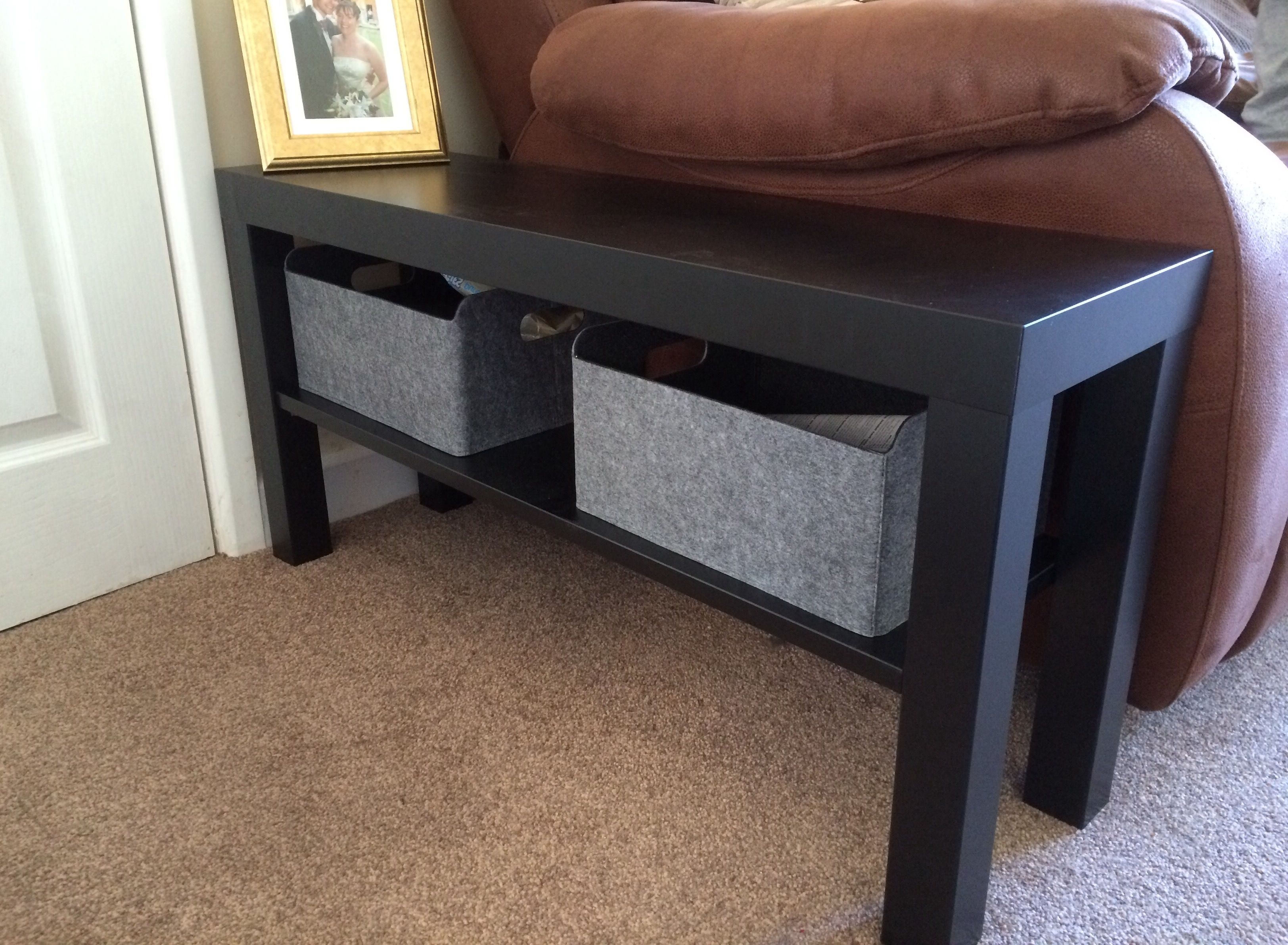 Bench Tv Stands With 2018 Ikea Lack Tv Stand Hack Bench As Side Table In 2018 Pinterest (View 5 of 20)