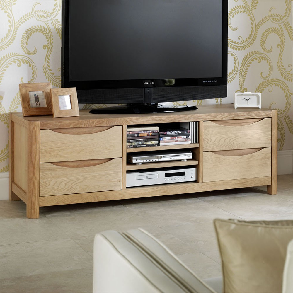 Bergen 4 Drawer Tv Unit – Tv Units And Media Storage With Regard To Recent Tv Drawer Units (View 20 of 20)