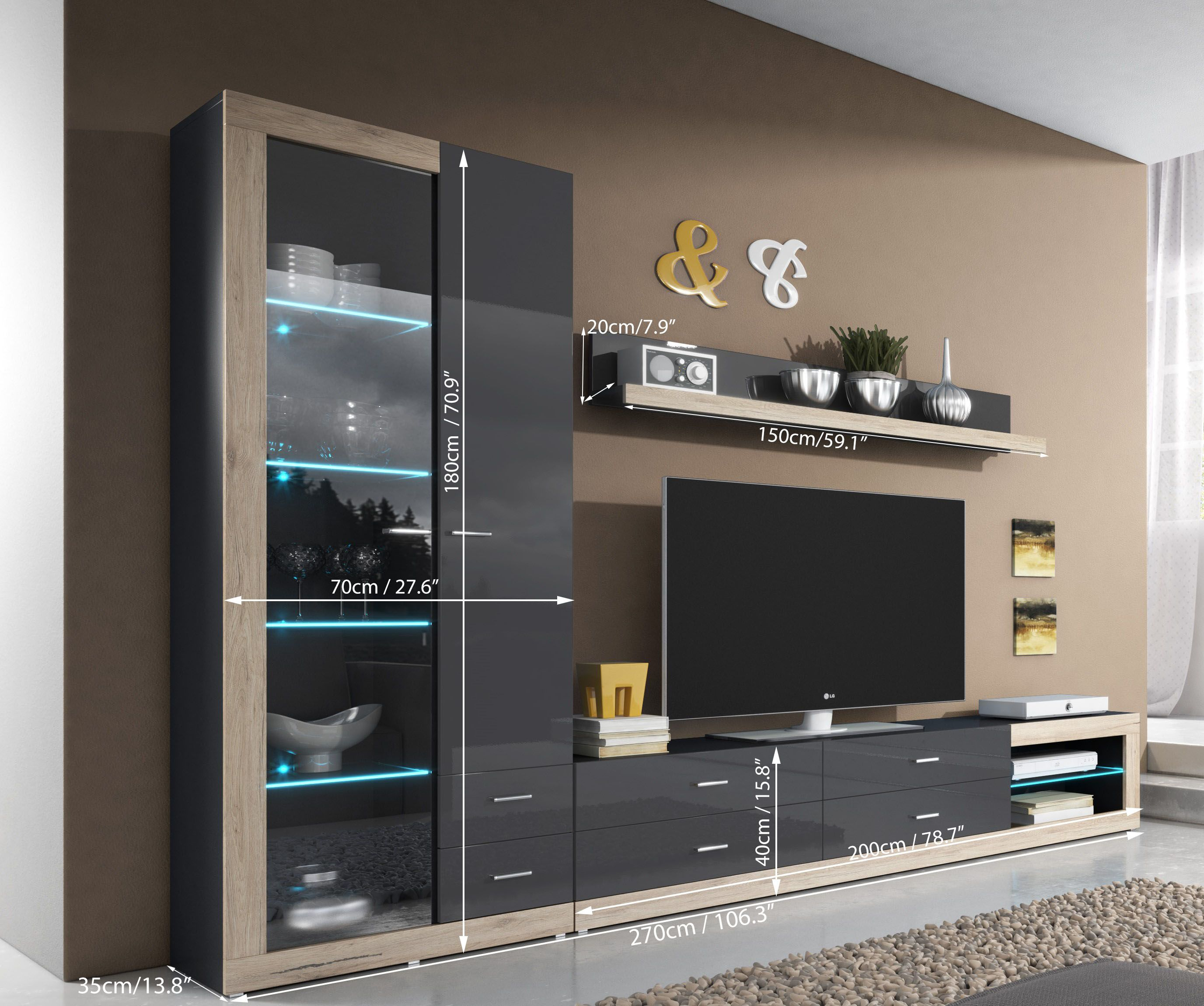 Best And Newest 10+ Beautiful Living Room Wall Units With Storage Photos – Storage Within Tv Units With Storage (View 5 of 20)