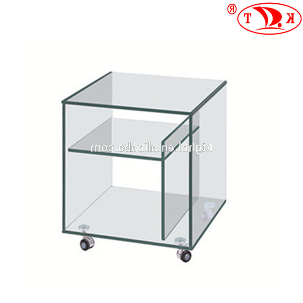 Best And Newest 2018 Hot Sale Modern Glass Tv Stand With Wheels – Buy Glass Tv Unit Regarding Contemporary Glass Tv Stands (View 18 of 20)