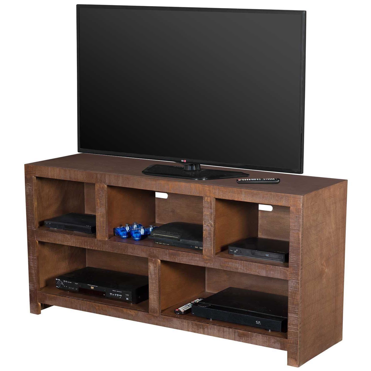 Best And Newest 61 Inch Tv Stands In 54 Inch Canon Tv Stand, Chocolate (View 6 of 20)