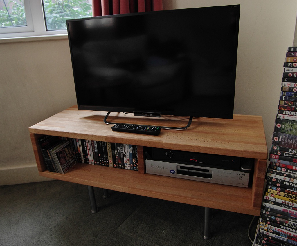 Best And Newest Beech Tv Stands Intended For Stylish Benno Tv Cabinet – Ikea Hackers (View 11 of 20)