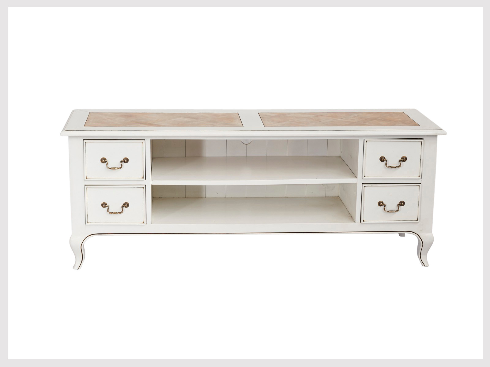 Best And Newest Contemporary White Tv/cabinet Unit In French Provincial Style (Lw14 Inside French Country Tv Cabinets (View 1 of 20)