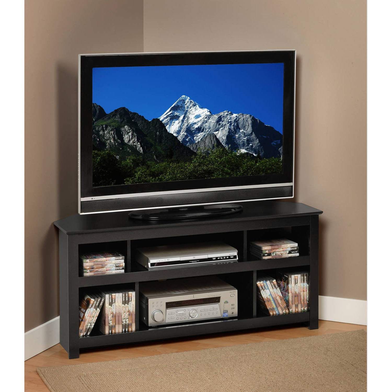 Best And Newest Corner Tv Stands For 46 Inch Flat Screen Within Corner Tv Stand 46 Inch Flat Screen – Corner Designs (Gallery 20 of 20)