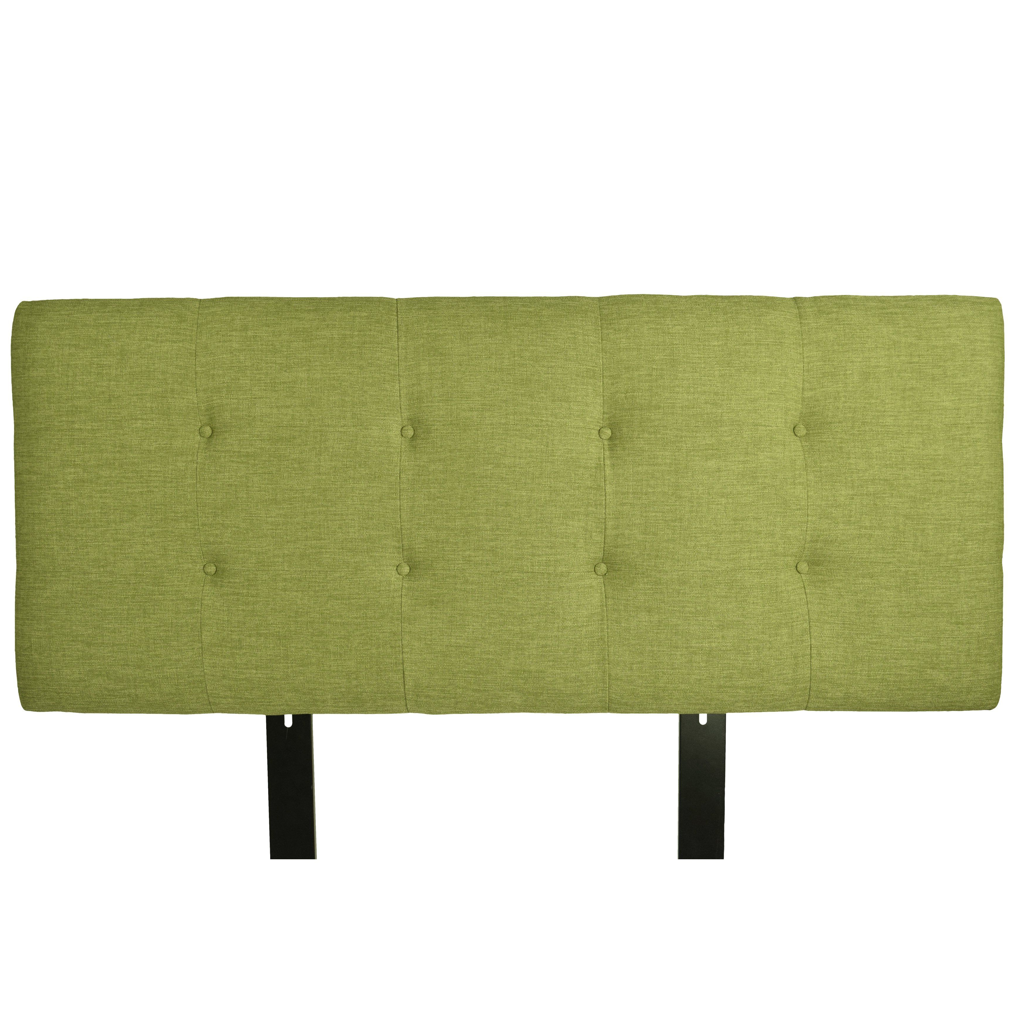 Best And Newest Mjl Furniture Ali Button Tufted Key Largo Grass Upholstered With Parsons Travertine Top & Brass Base 48X16 Console Tables (View 2 of 20)