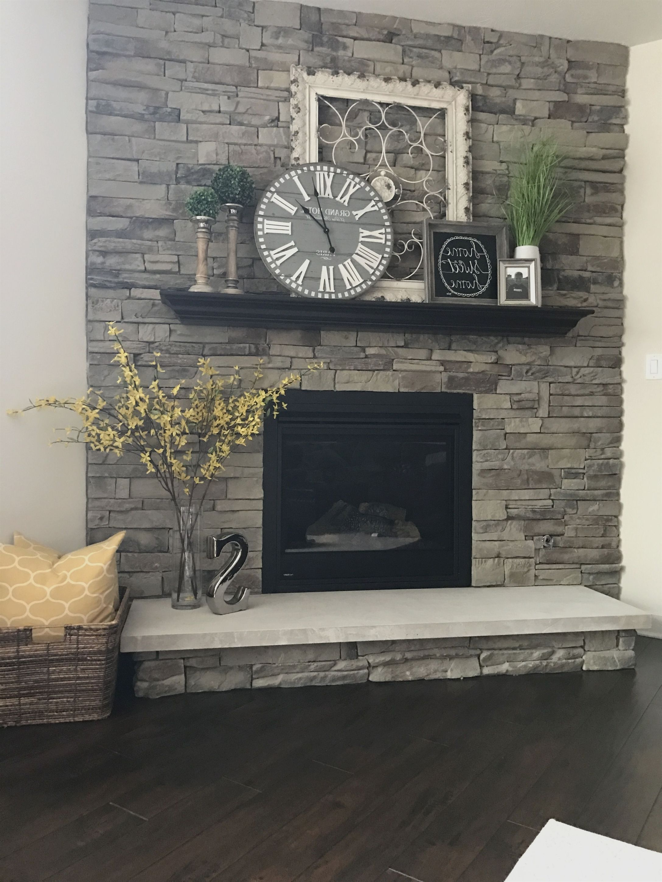 Best And Newest My Fireplace.tal Frame, Home Sign, & Clock (hobby Lobby) (View 18 of 20)