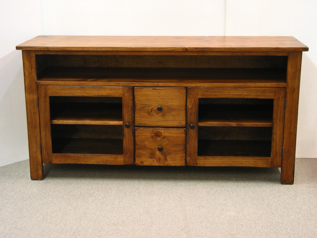 Best And Newest Pine Wood Tv Stands In Tv Stand Pine Tv Console Rustic Tvharvesttreasuresinc Butler (View 14 of 20)