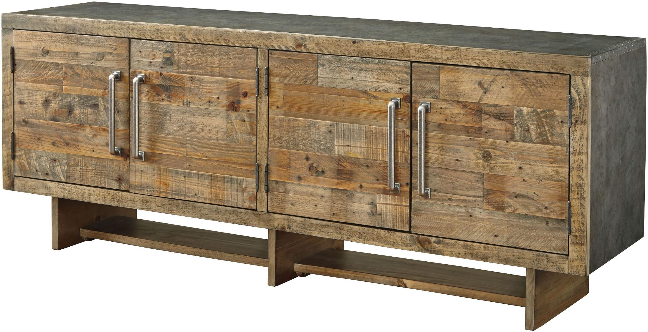Best And Newest Signature Designashley Mozanburg Brown Extra Large Tv Stand With Regard To Vista 68 Inch Tv Stands (View 4 of 20)