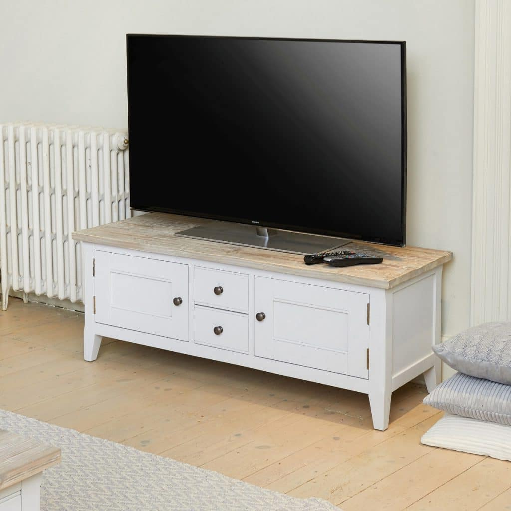 Best And Newest Signature Grey Widescreen Television Stand (Gallery 4 of 20)