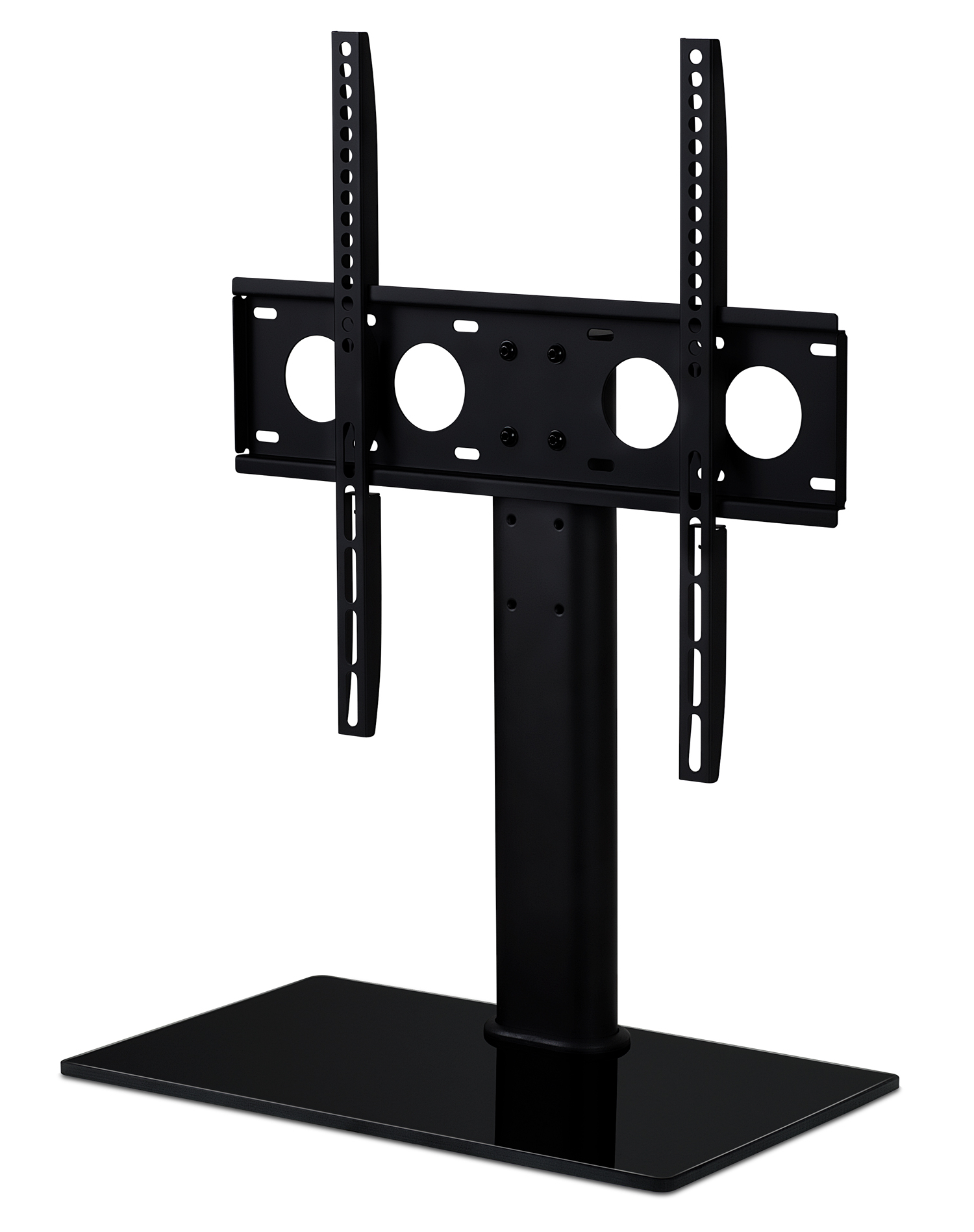 Best And Newest Tabletop Tv Stands Regarding Mount It: Mount It! Universal Tabletop Tv Stand Mount And Av Media (Gallery 17 of 20)