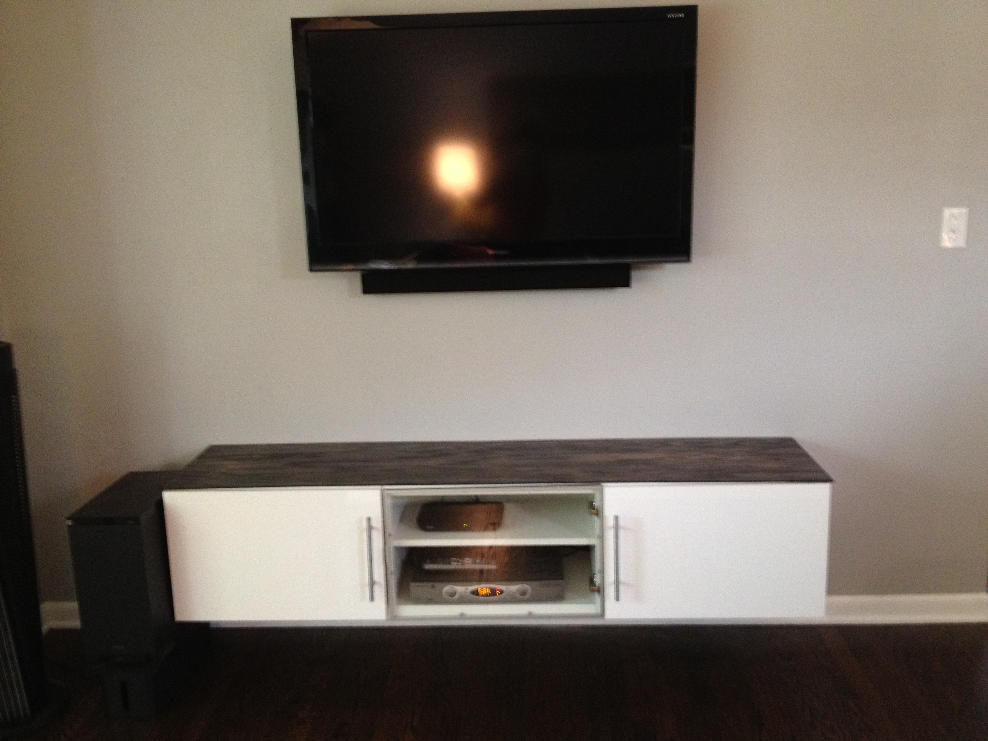 Best And Newest Wall Stand Ikea Or Mounting Besta Cabinets With Base Plus Kitchen Within Ikea Wall Mounted Tv Cabinets (View 3 of 20)