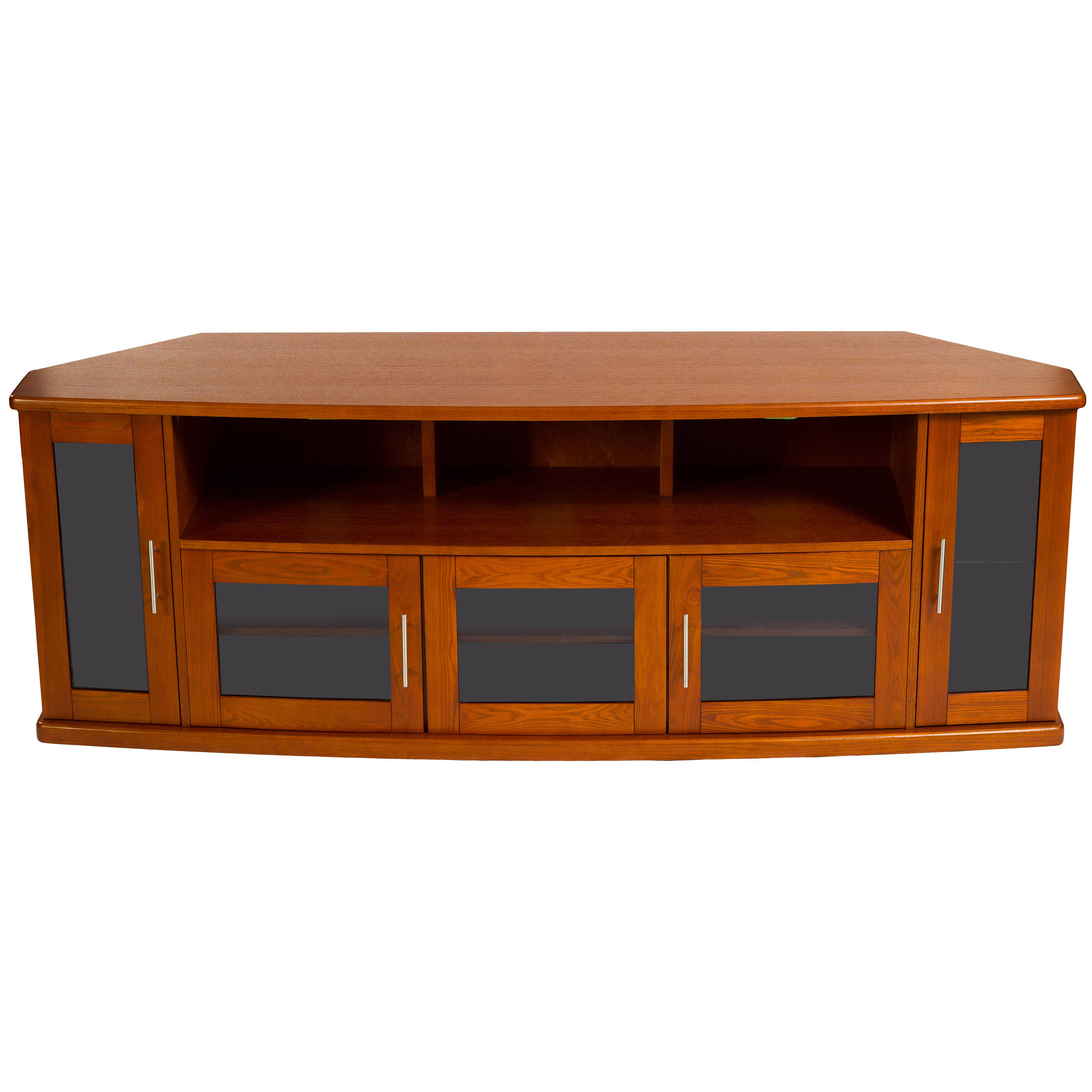 Best And Newest Walnut Corner Tv Stands With Regard To Plateau Newport 80 Corner Tv Stand (walnut) Newport 80 (w) B&h (View 3 of 20)