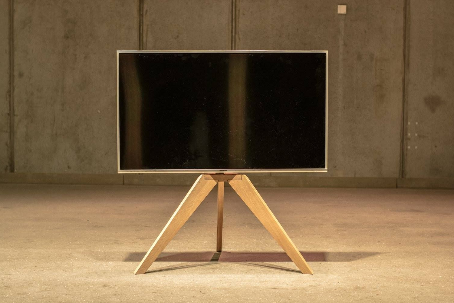 Best Buy Tv Mounts Stands 65 Tripod Wood Dual Monitor Floor Stand With Current Wood Tv Floor Stands (View 3 of 20)