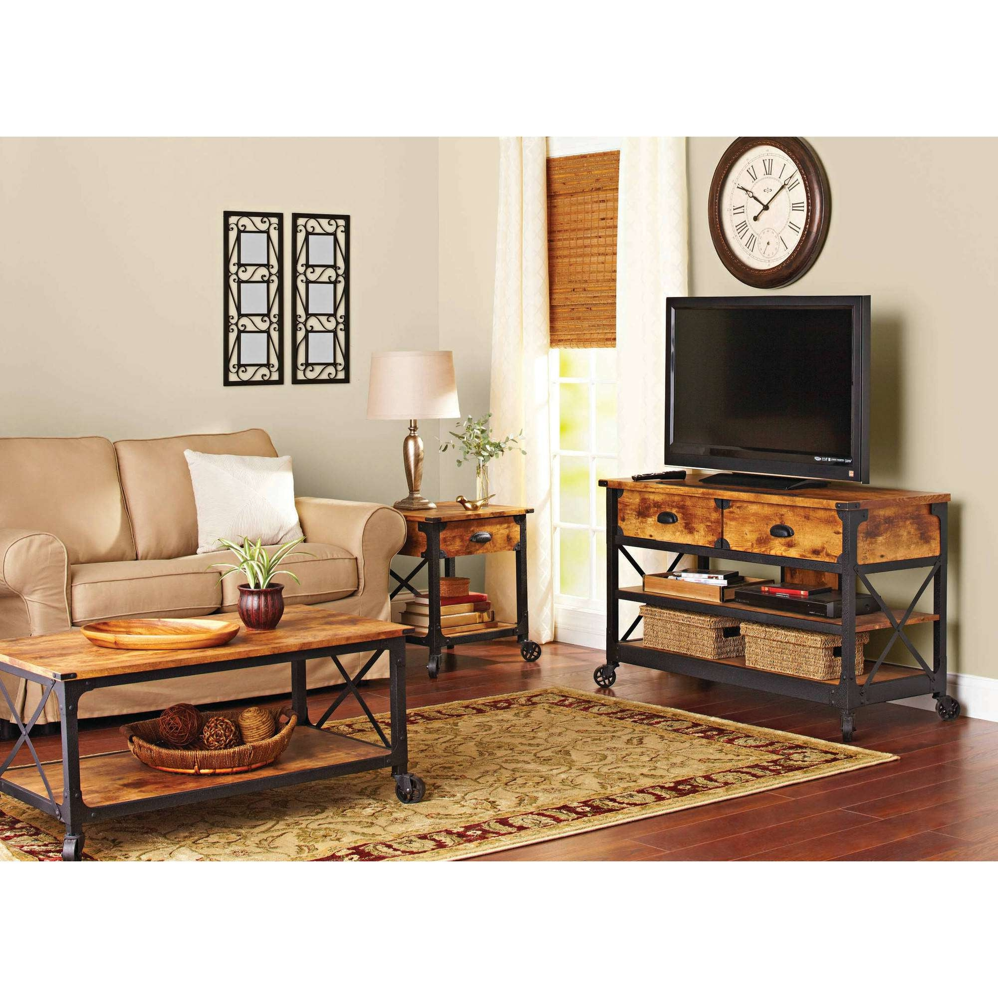 Featured Photo of Rustic Coffee Table And Tv Stand