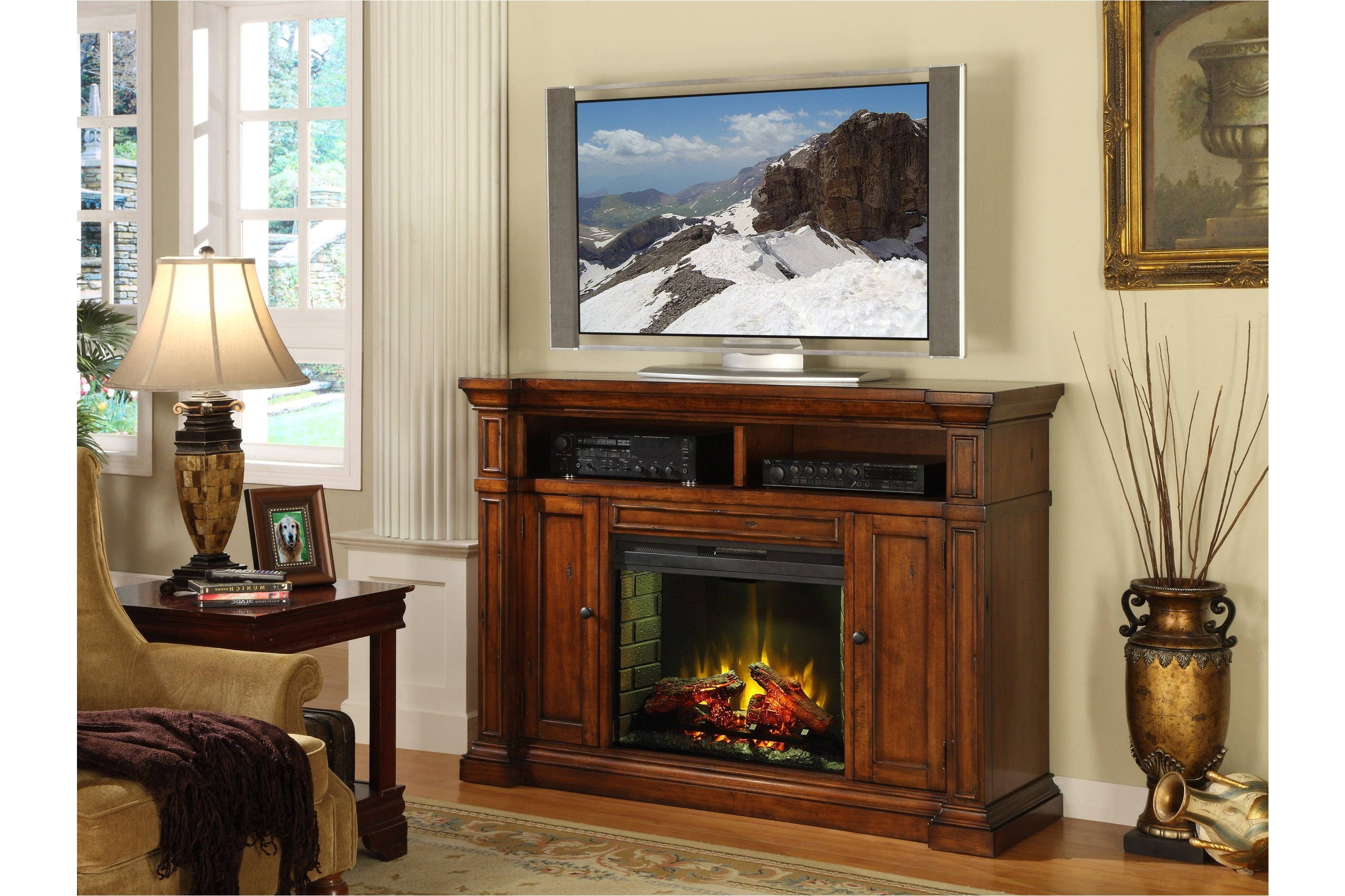 Big Lots Fireplace Entertainment Center Media Fireplace Tv Stand In Most Recent Luxury Tv Stands (View 2 of 20)