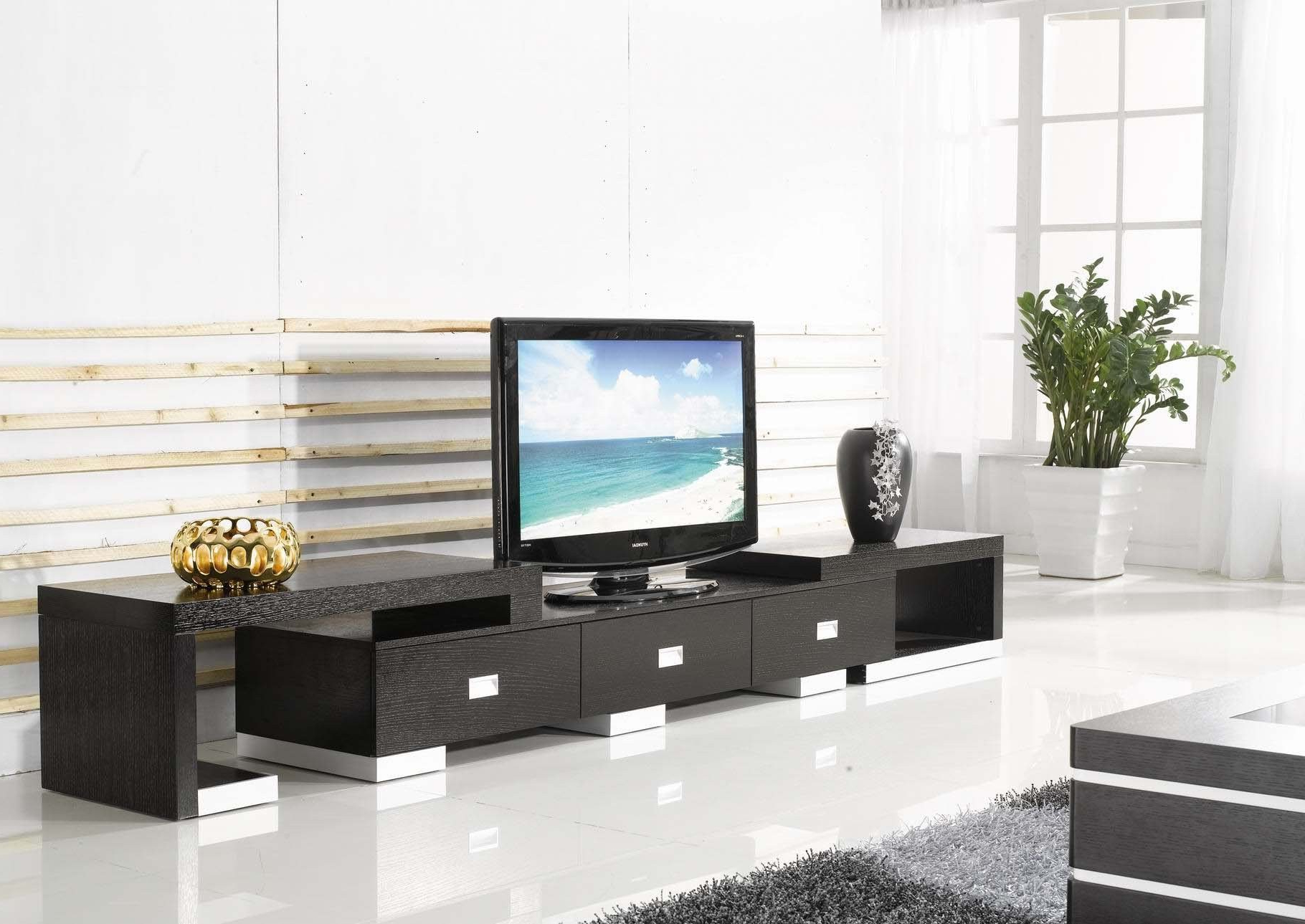 Big Tv Stands Furniture With Recent Small Tv Stands For Bedroom Big Tv Stand Versus Small Living Room Tv (View 9 of 20)
