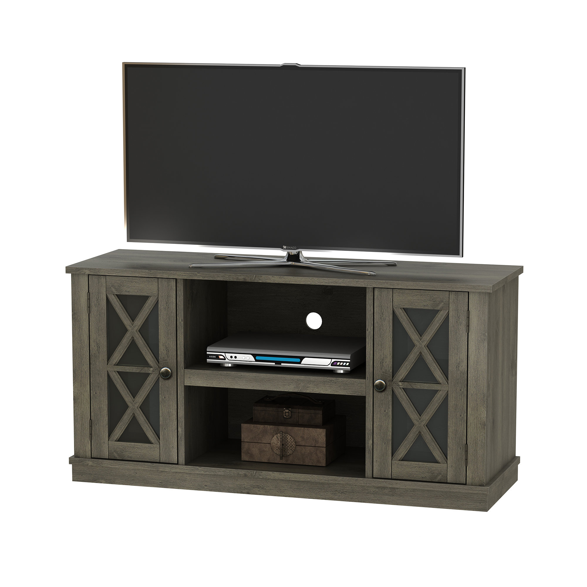 Birch Lane In Sinclair Grey 74 Inch Tv Stands (Gallery 6 of 20)