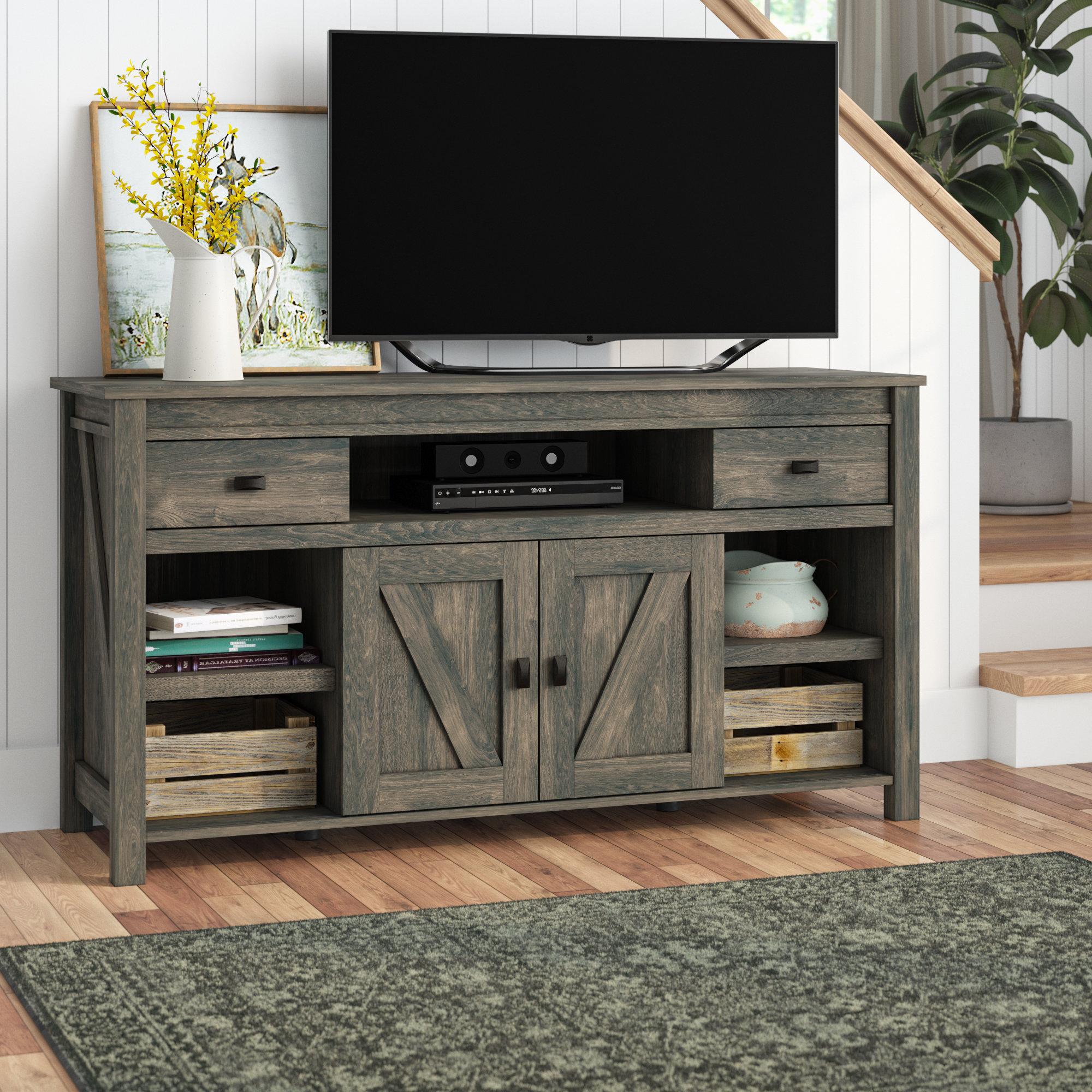 Birch Lane Inside Popular Edwin Black 64 Inch Tv Stands (Gallery 4 of 20)