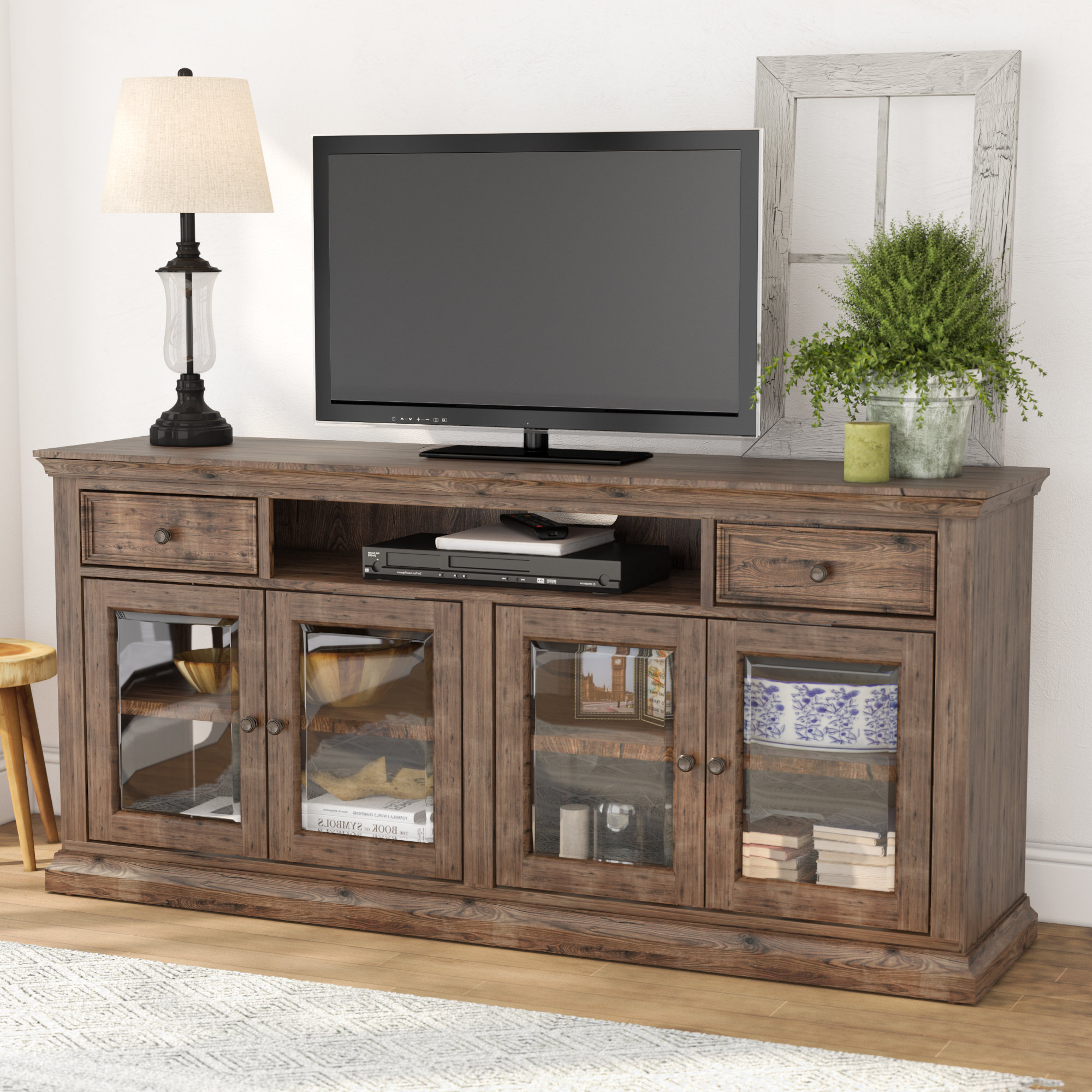 Birch Lane Throughout Most Popular Edwin Grey 64 Inch Tv Stands (View 4 of 20)
