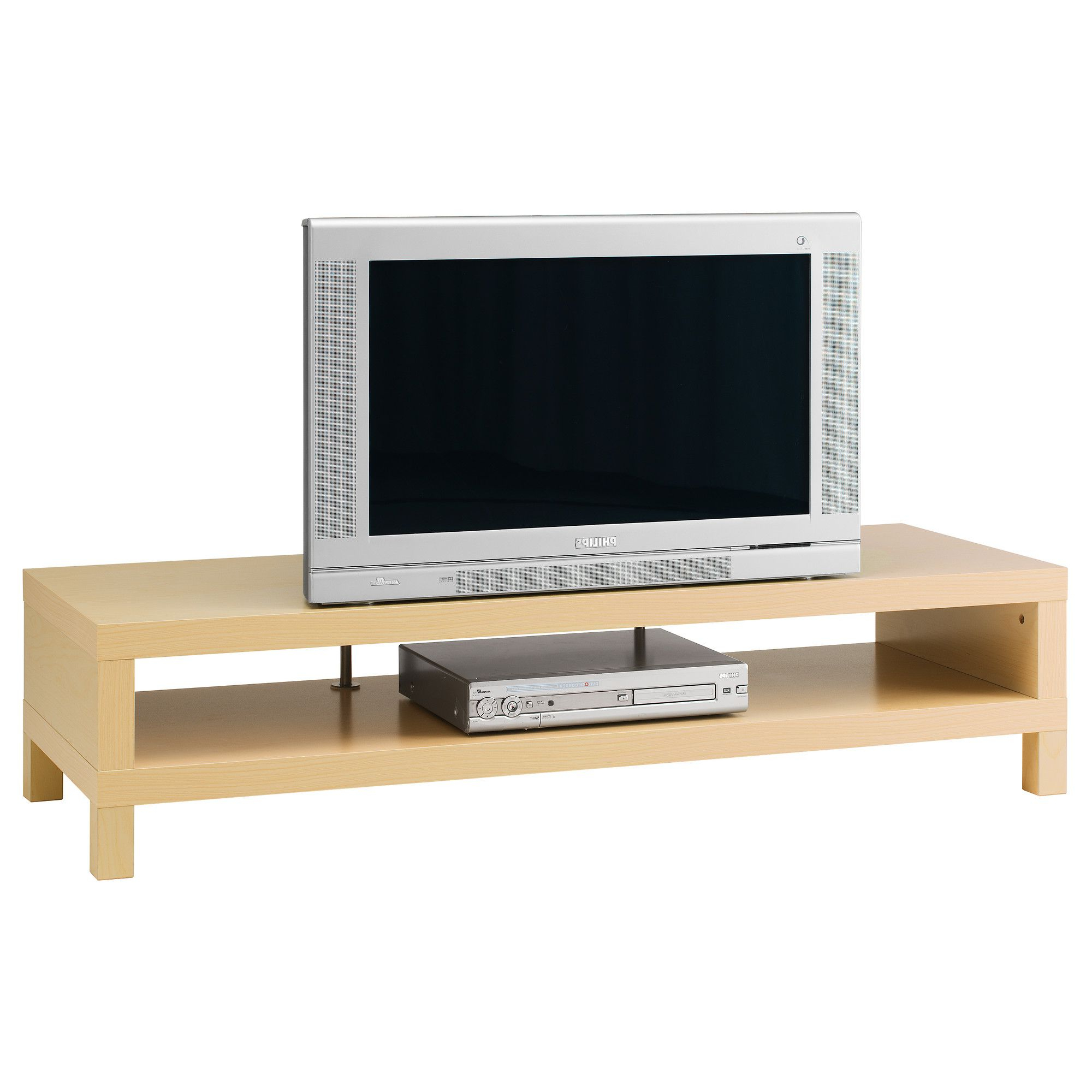 Birch Tv Stands Within Most Recent Lack Tv Unit – Birch Effect – Ikea $ (View 8 of 20)