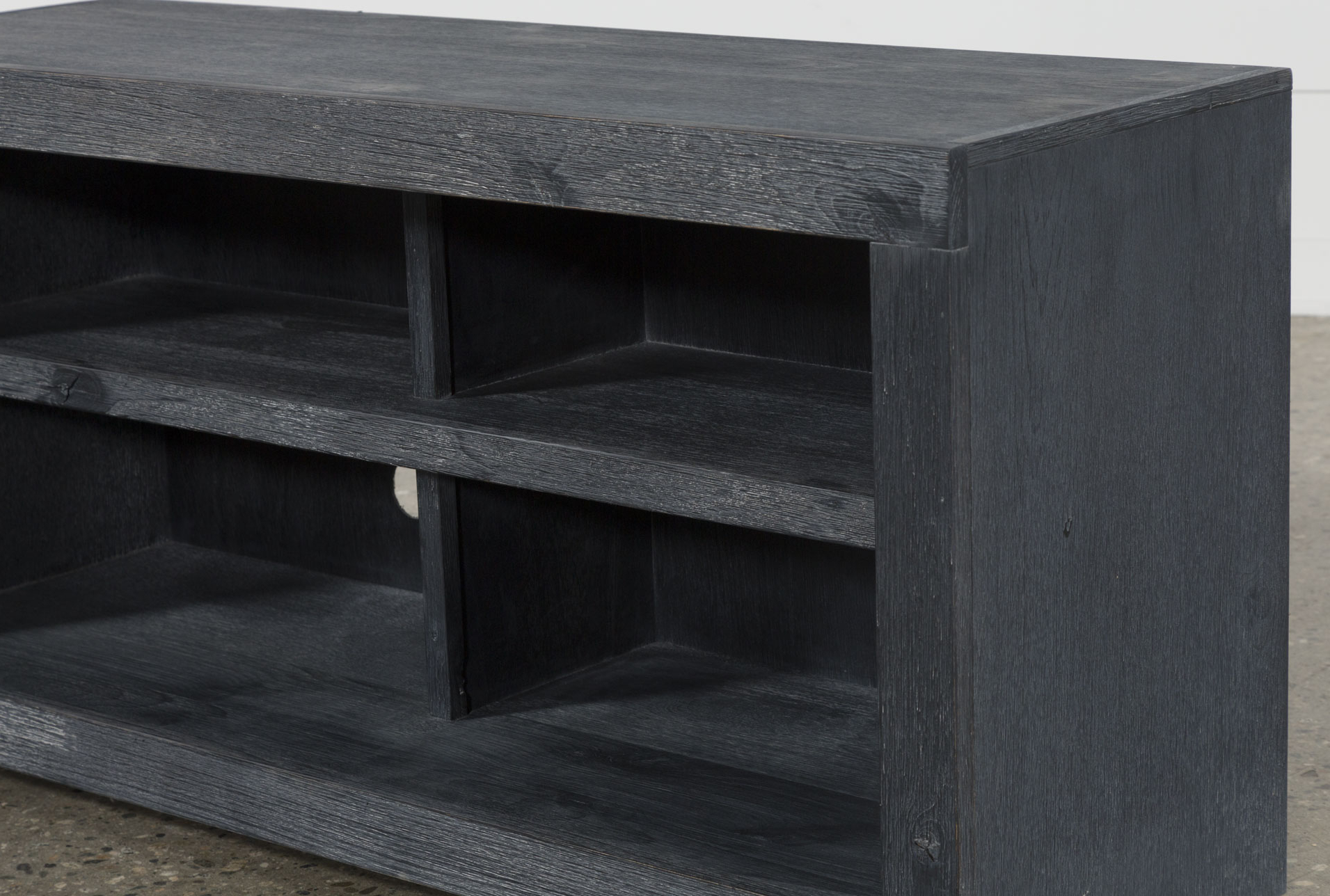 Black In Most Up To Date Kilian Grey 49 Inch Tv Stands (Gallery 1 of 20)