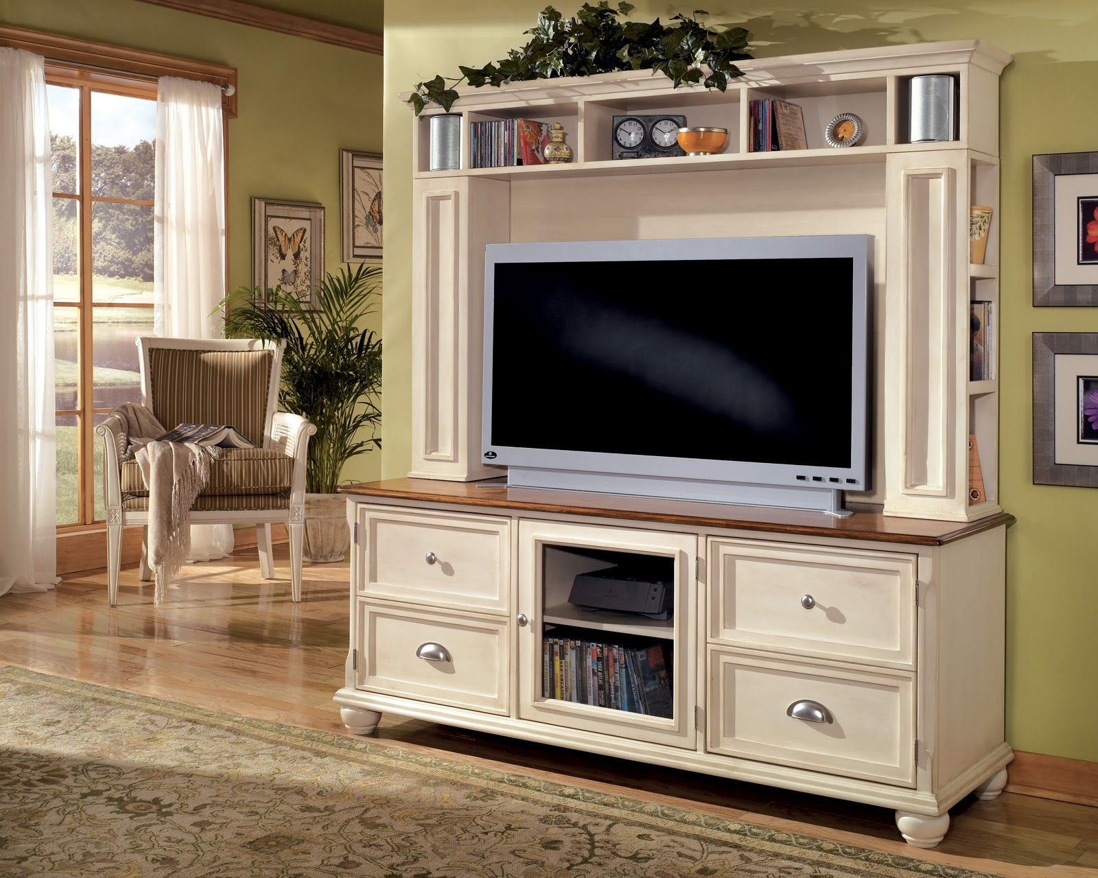 Featured Photo of French Country Tv Cabinets