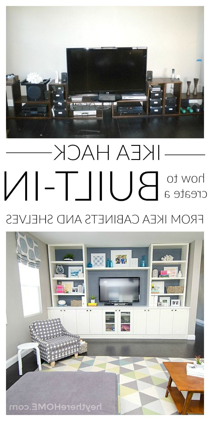 Blogger Home Projects Within Preferred Dixon White 58 Inch Tv Stands (View 4 of 20)