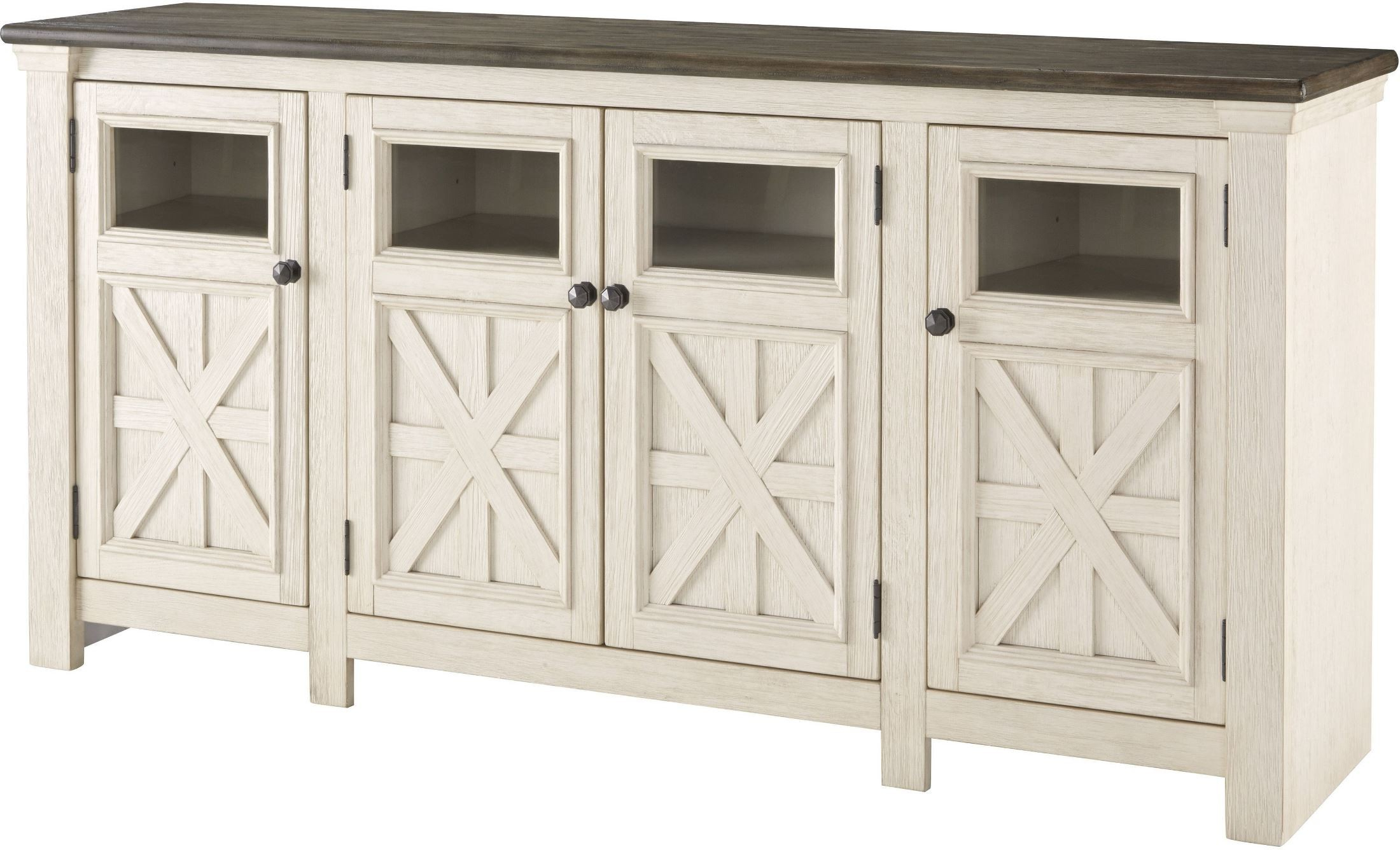 Bolanburg Weathered Gray Extra Large Tv Stand From Ashley (View 4 of 20)