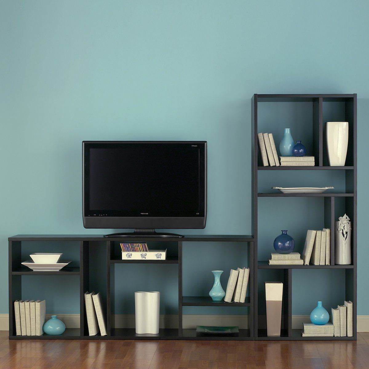 Bookcase/tv Stand – Can Be Arranged Horizontally, Vertically, Or One For Widely Used Tv Stands With Matching Bookcases (View 6 of 20)