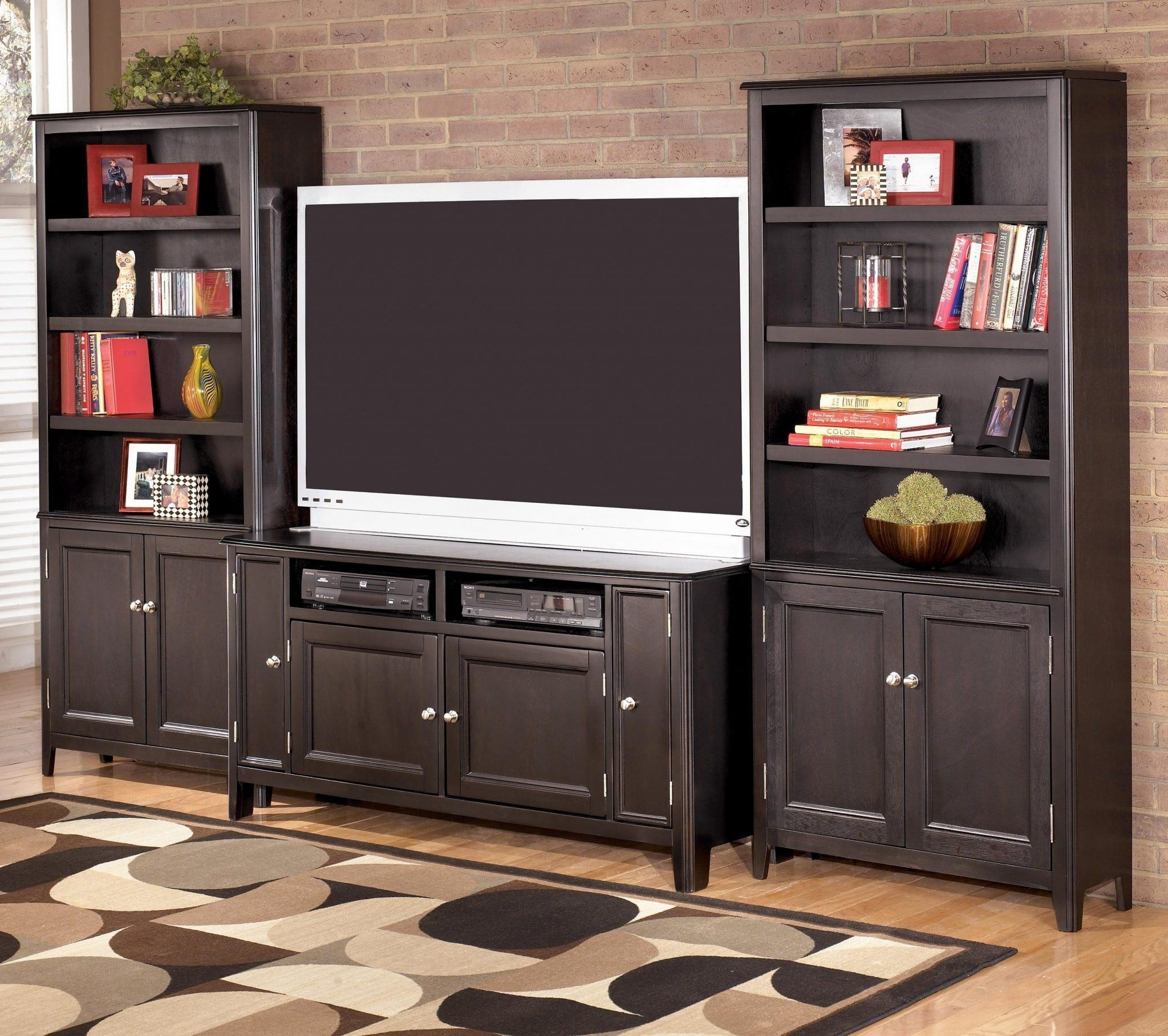 Bookshelf Tv Stands Combo Regarding Most Popular 29 Cool Bookcase Tv Stand Combo For Living Room Decor (View 10 of 20)