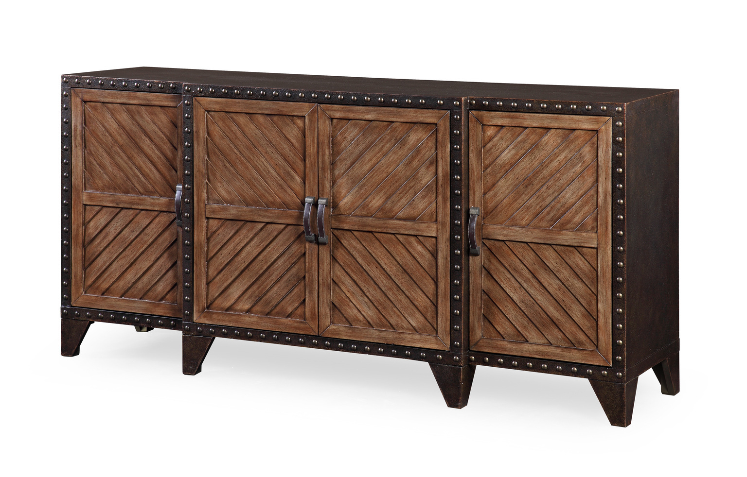 Featured Photo of Burnt Oak Metal Sideboards