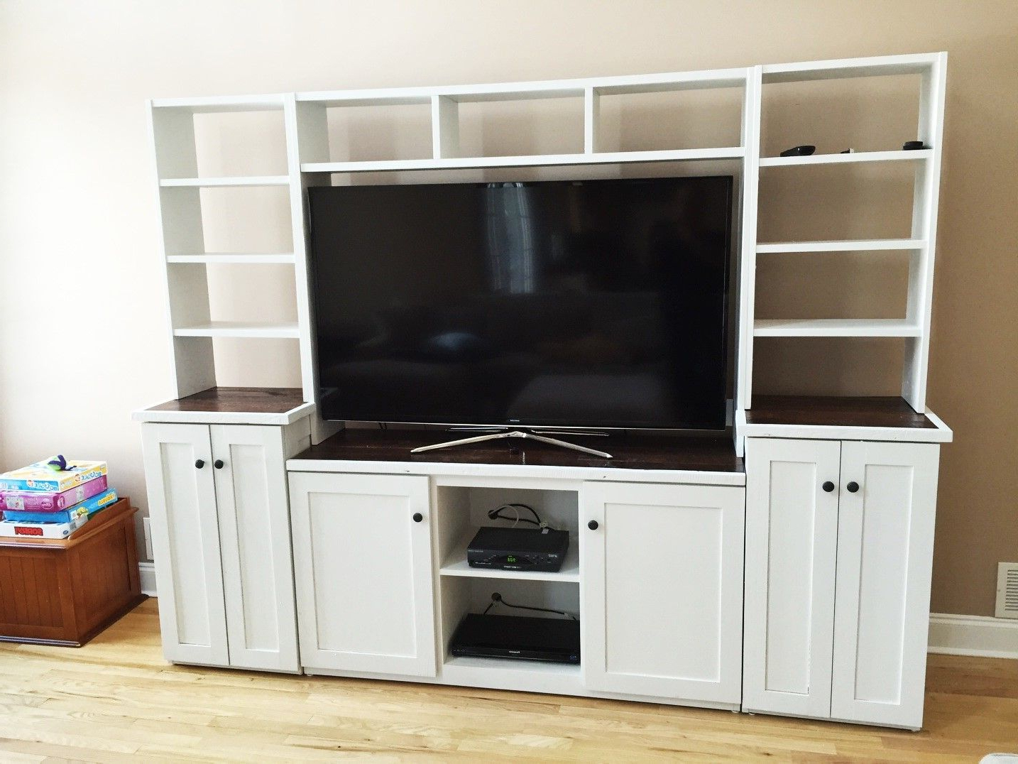 Buy A Custom Barn Wood, Tv Stand, Media Console, Entertainment Within Newest Tv Hutch Cabinets (Gallery 13 of 20)