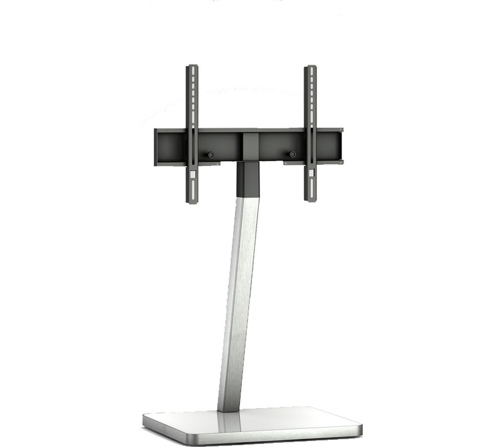 Buy Sonorous Pl2700 Wht Cantilever 600 Mm Tv Stand – White & Silver Inside Famous Cantilever Tv Stands (View 8 of 20)