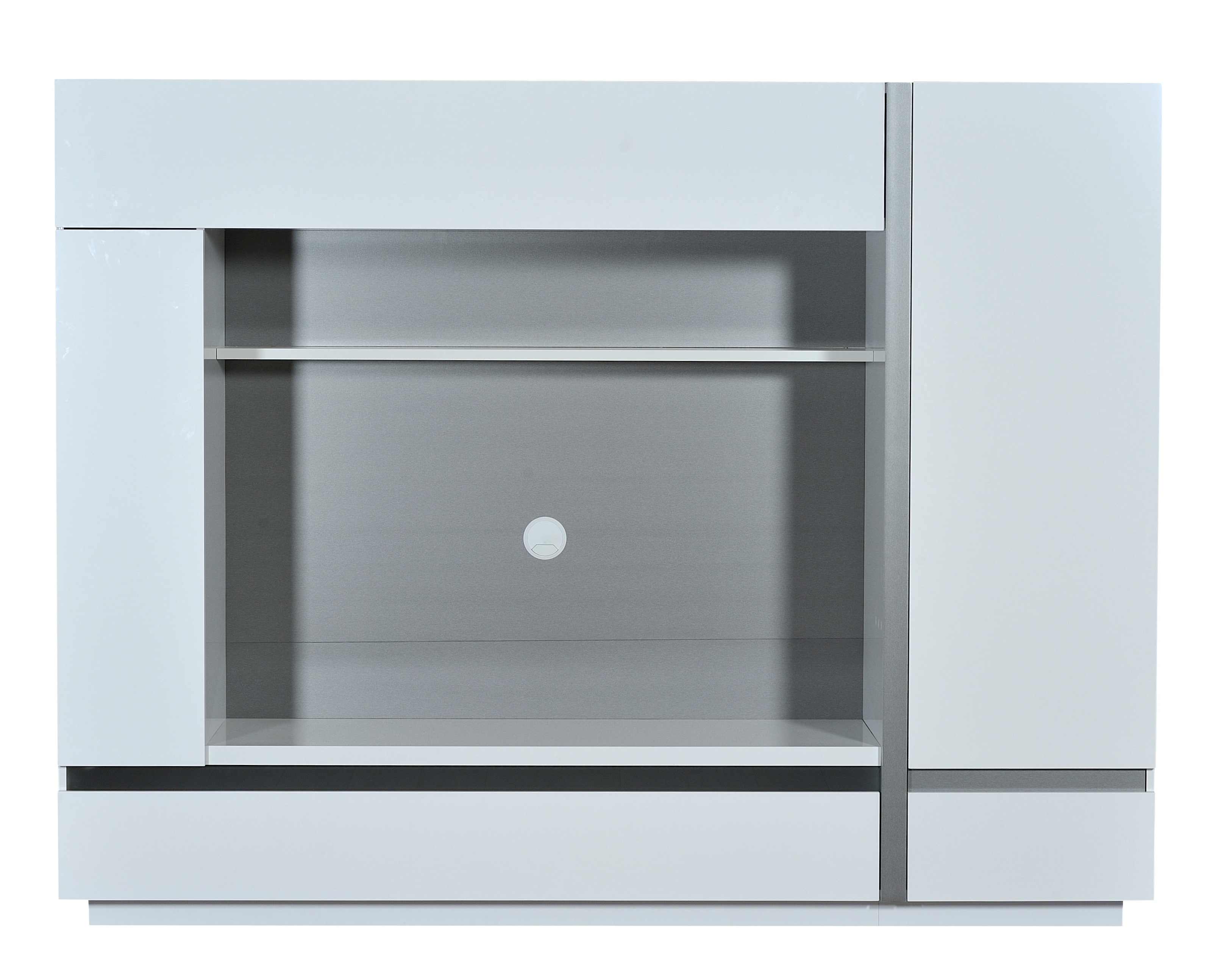 Caden 63 Inch Tv Stands Throughout Well Known White Entertainment Units You'll Love (View 5 of 20)