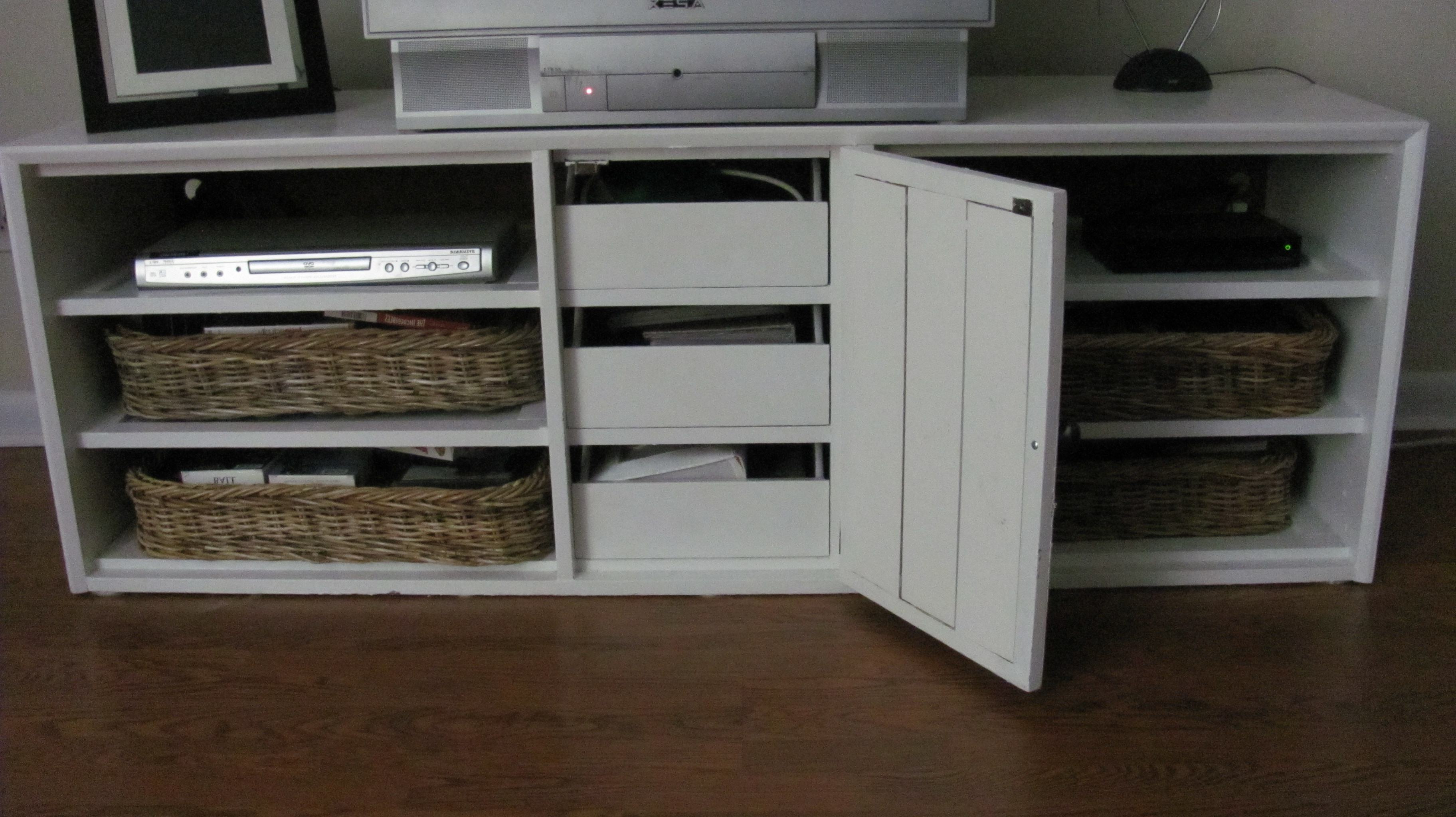 Cakestandlady Regarding Tv Stands With Baskets (View 4 of 20)