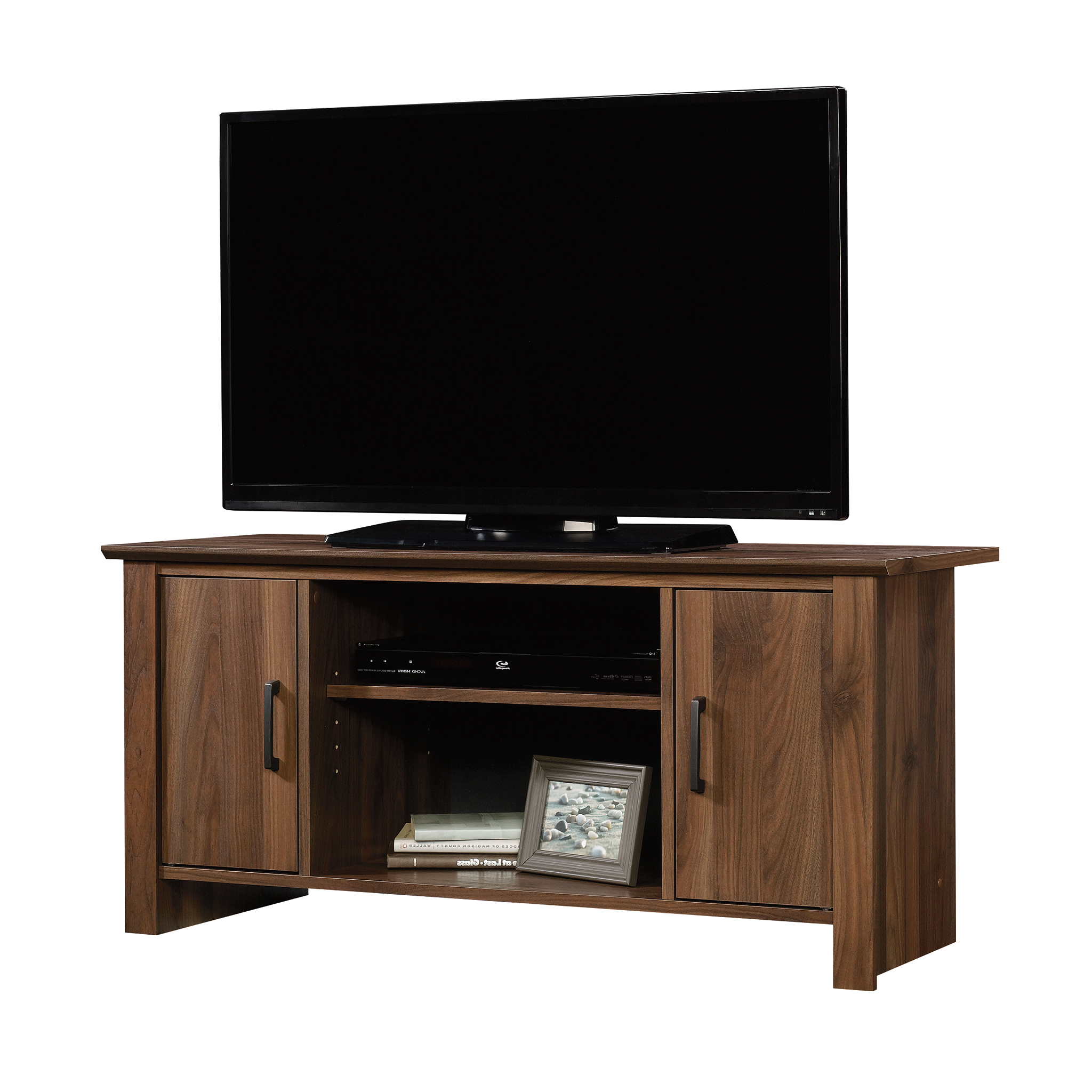 """Canyon 54 Inch Tv Stands For Popular Mainstays Tv Stand For Flat Screen Tvs Up To 47"""", Canyon Walnut (View 4 of 20)"""