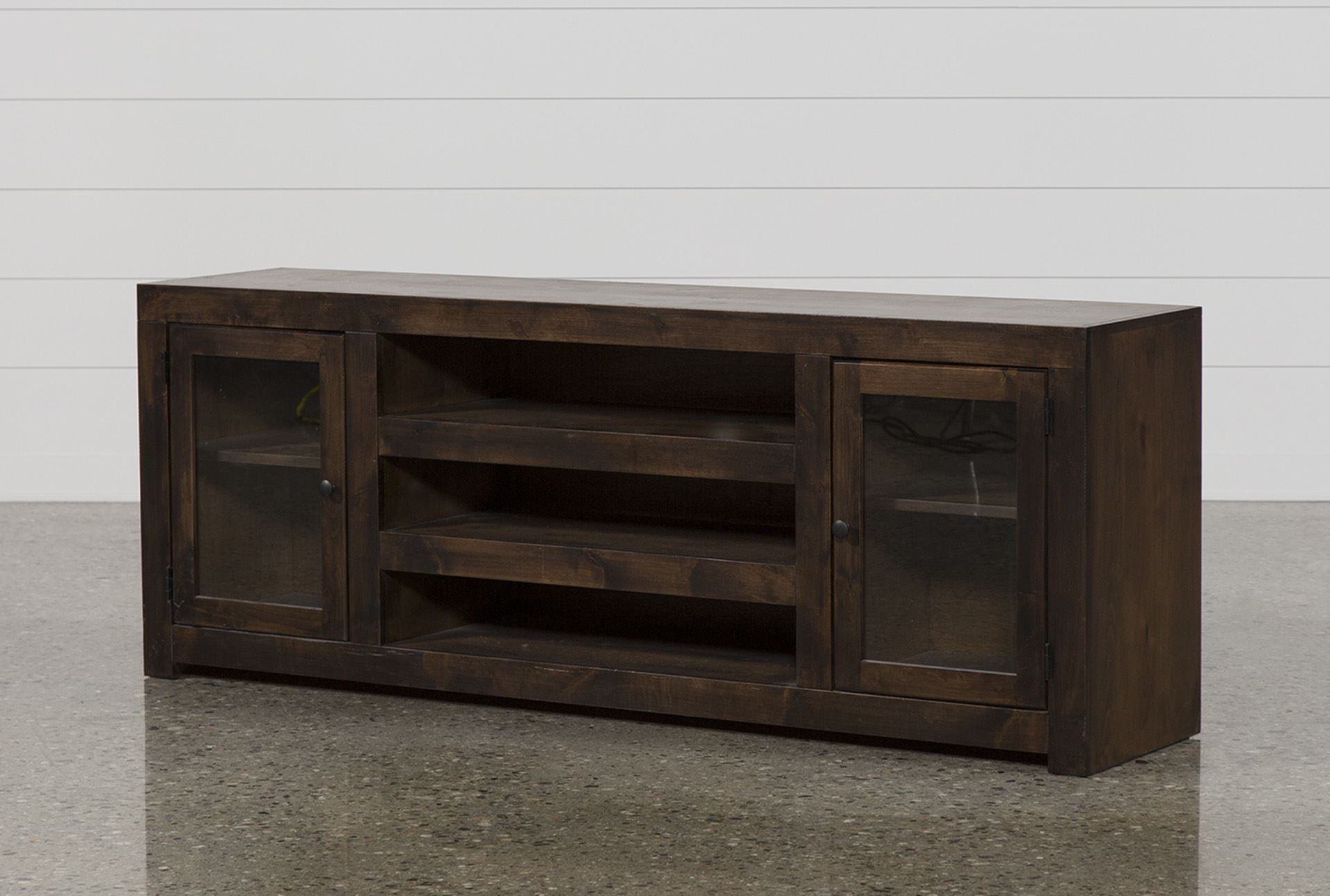 Canyon 74 Inch Tv Stands Within Trendy Trendy Canyon 74 Inch Tv Stand Living Spaces Tv Stand (View 6 of 20)