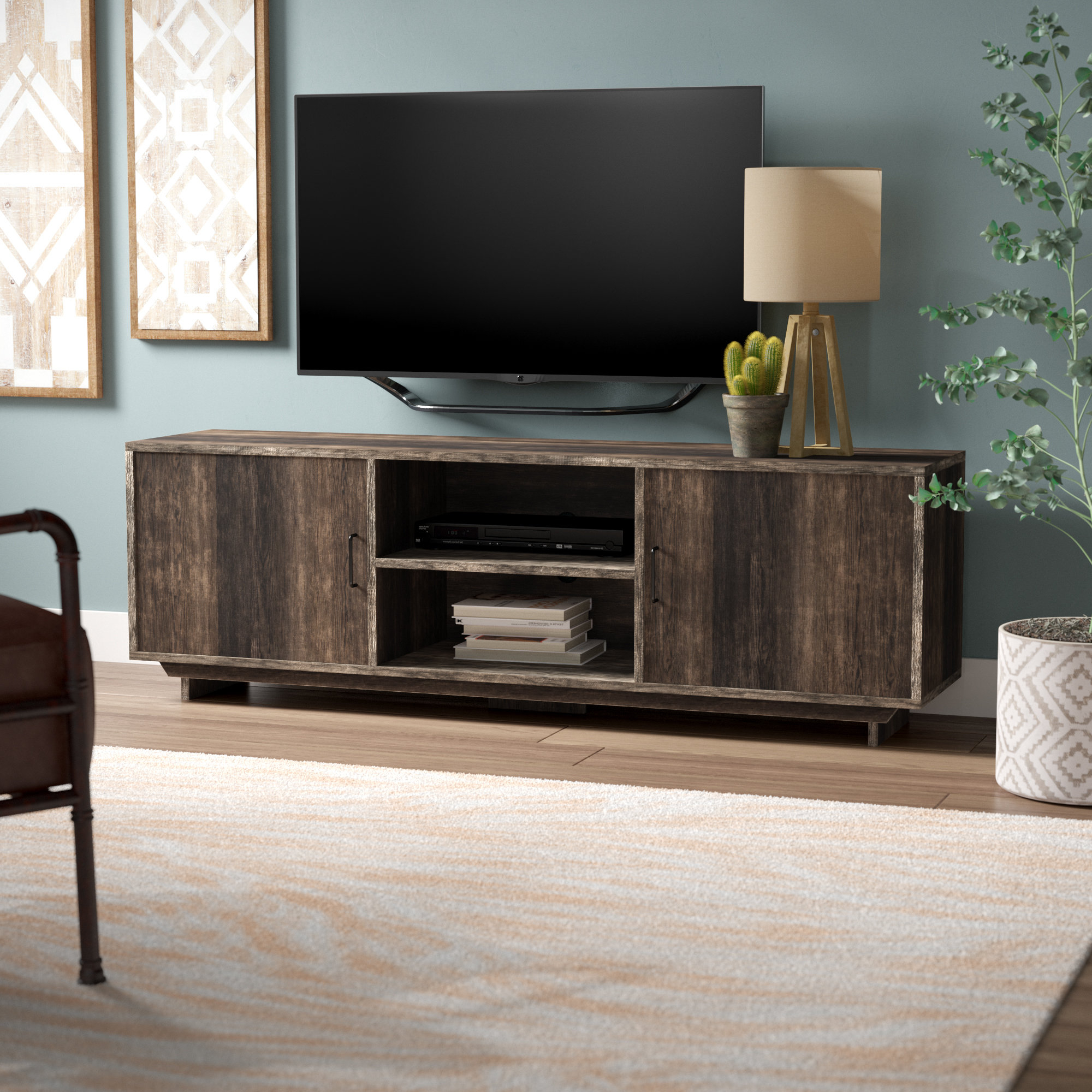 Casey Umber 54 Inch Tv Stands Pertaining To Widely Used Low (Up To 23 Inches) Tv Stands (View 11 of 20)